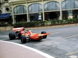 1971 March 711  - $Ronnie Peterson at the 1971 Monaco Grand Prix where he finished 2nd with chassis 711-02.