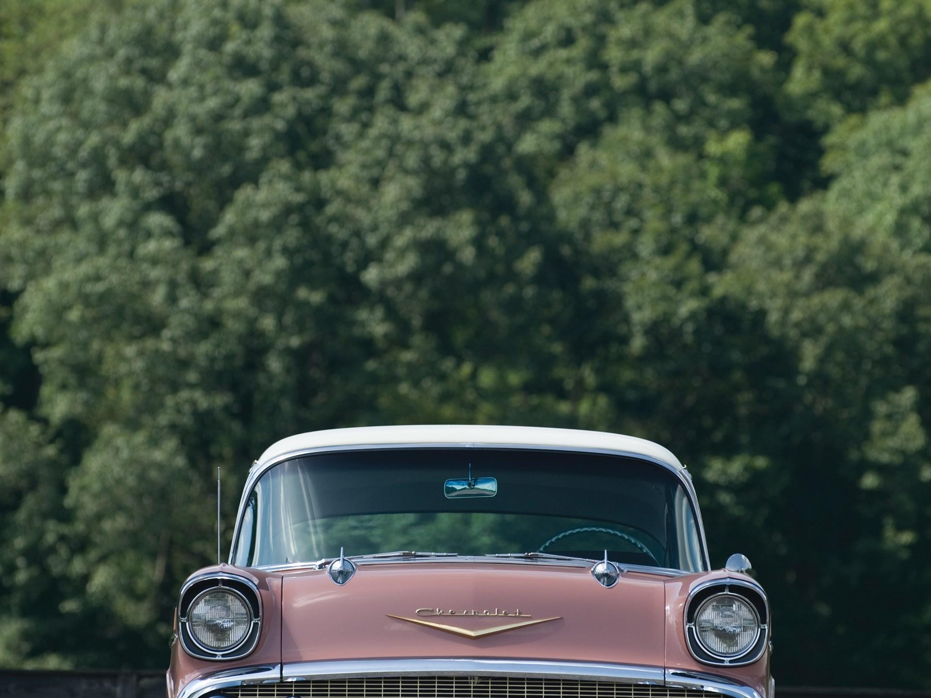 Rm Sothebys 1957 Chevrolet Bel Air Two Door Sedan Fuel Injected