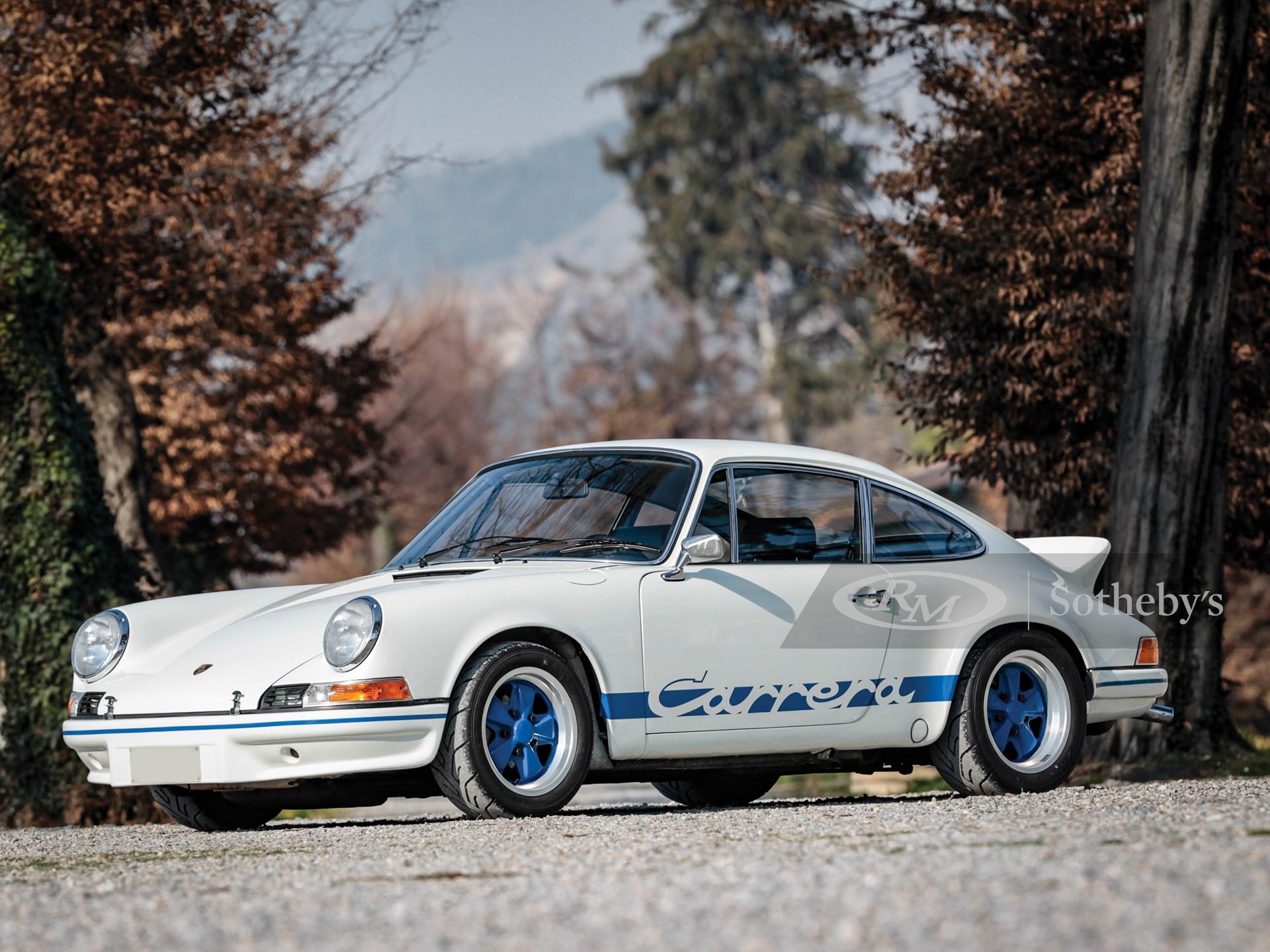 1973 Porsche 911 Carrera Rs 2 7 Touring Essen 2019 Rm Sotheby S