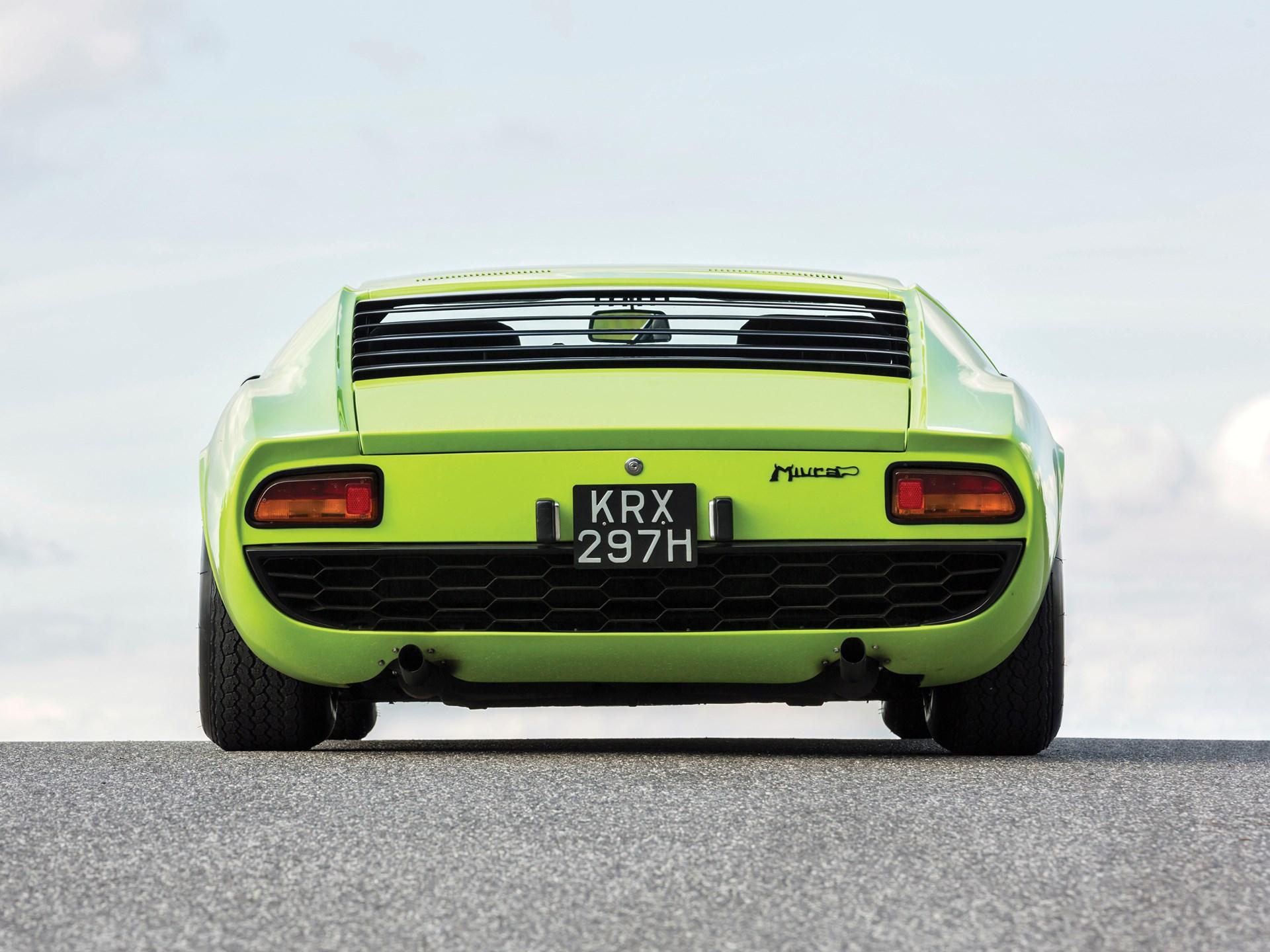 Rm Sotheby S 1968 Lamborghini Miura P400 By Bertone London 2014
