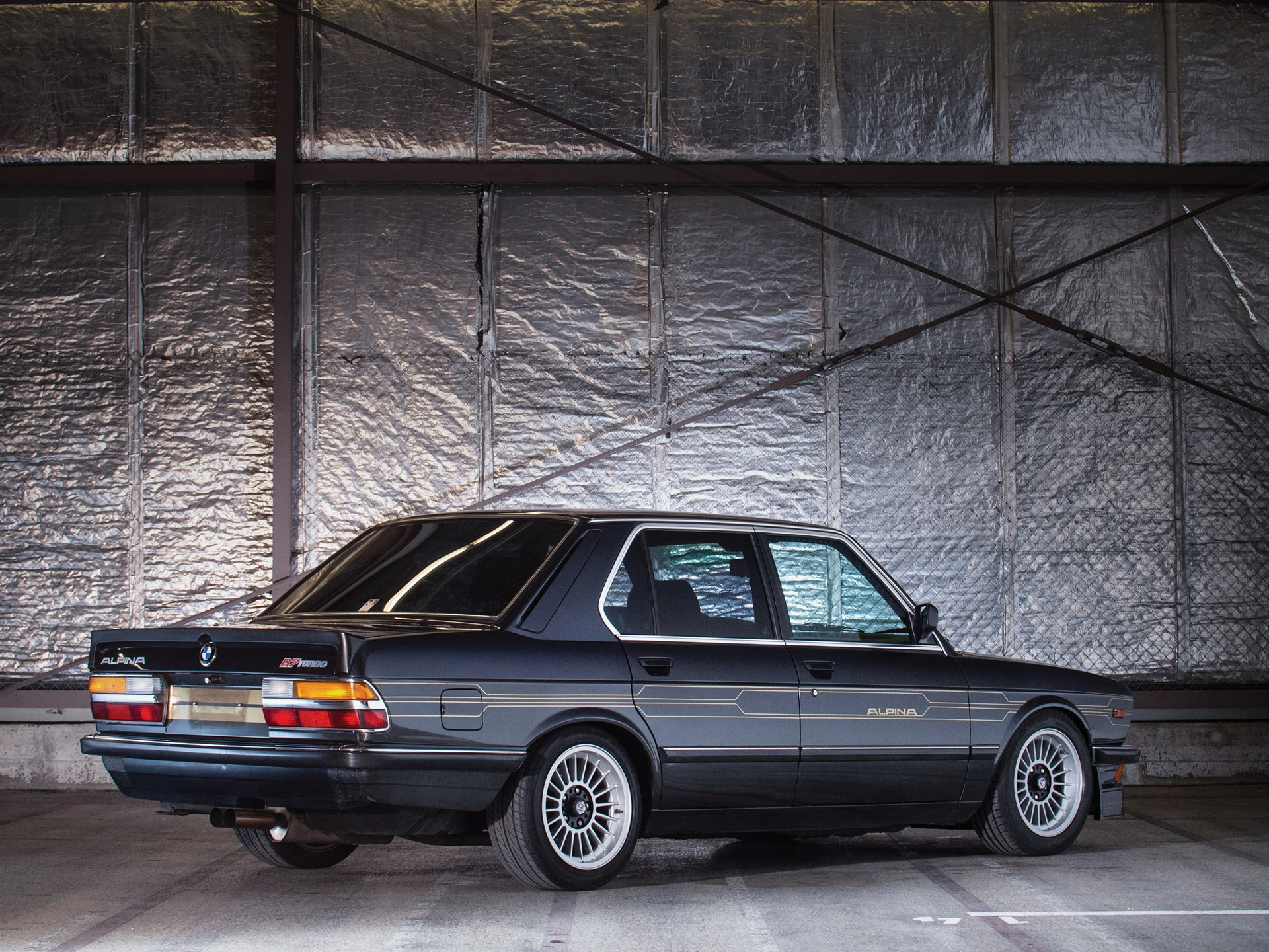 1986 BMW Alpina B7 Turbo/1