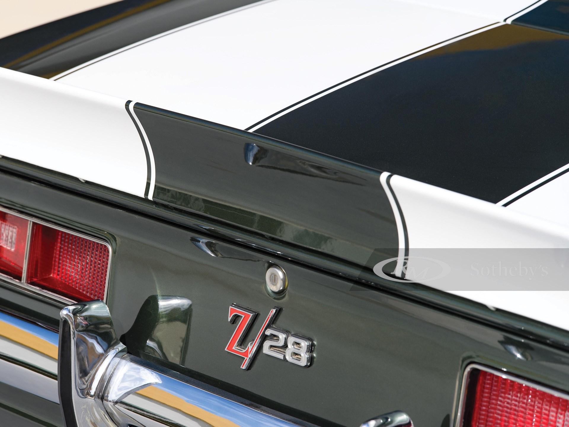 1969 Chevrolet Camaro Z/28  -