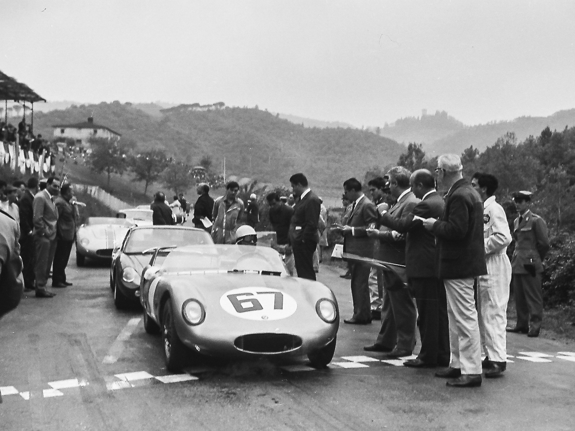 The OSCA at Mugello in 1965.