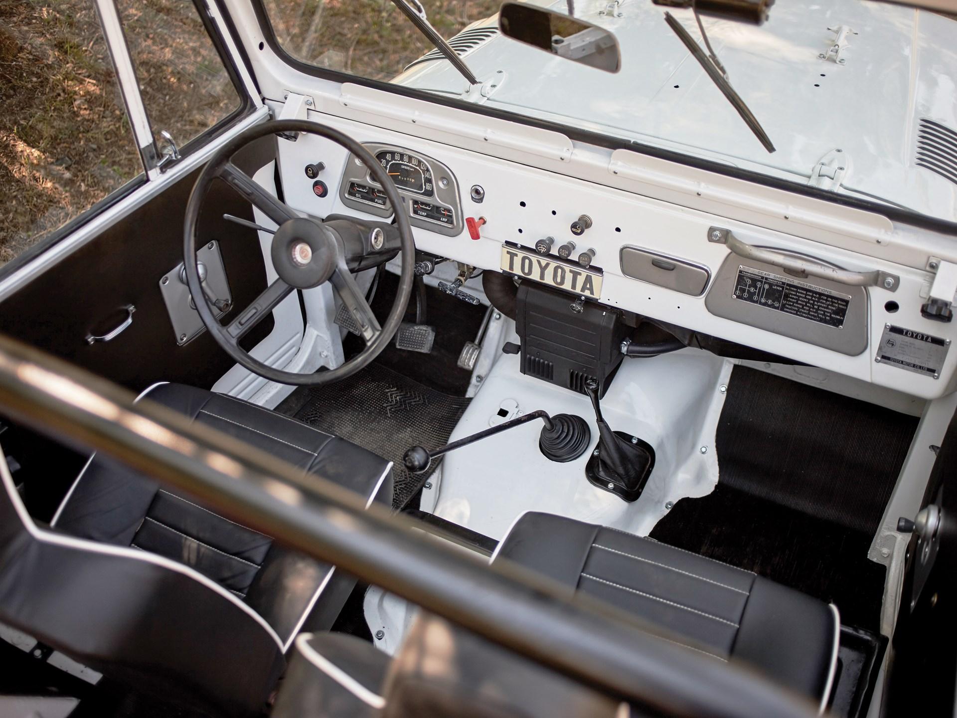 Rm Sothebys 1973 Toyota Fj40 Land Cruiser London 2016