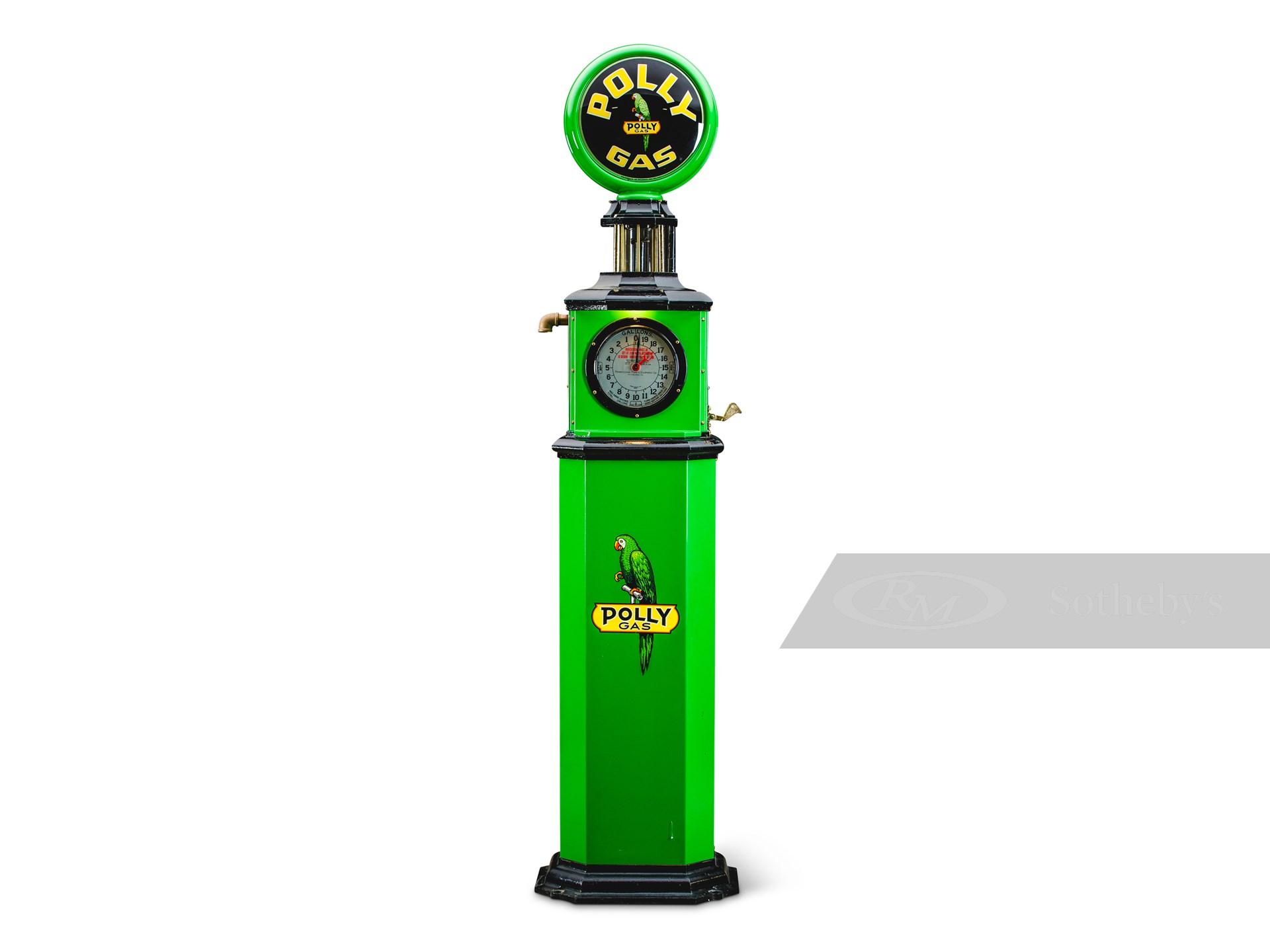 Pennsylvania Penometer Clock Face Gas Pump -