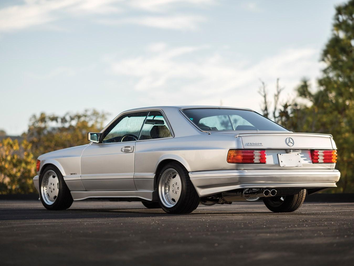 1989 Mercedes-Benz 560 SEC 6.0 AMG 'Wide Body'