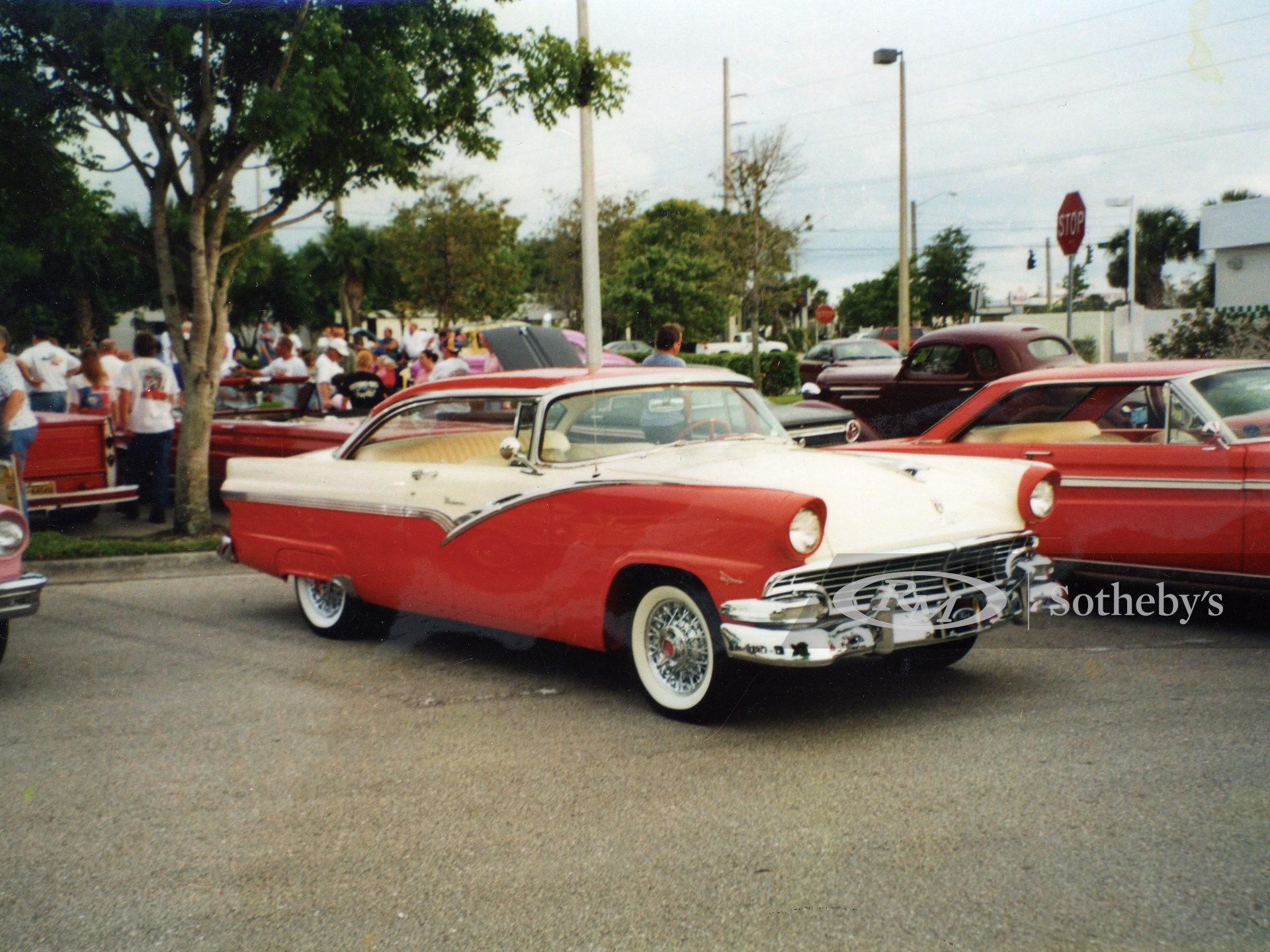 1956 Ford Crown Victoria 2D  -