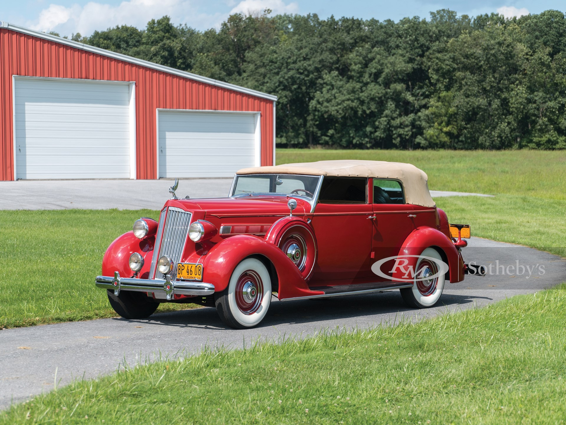 1936 Packard One Twenty Convertible Sedan