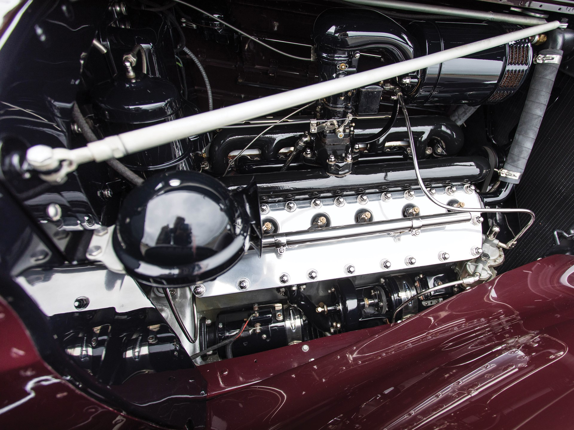 1937 Lincoln Model K Convertible Victoria by Brunn