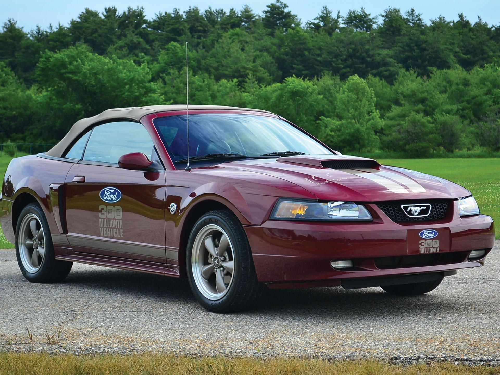 2004 ford mustang gt 300 millionth ford produced