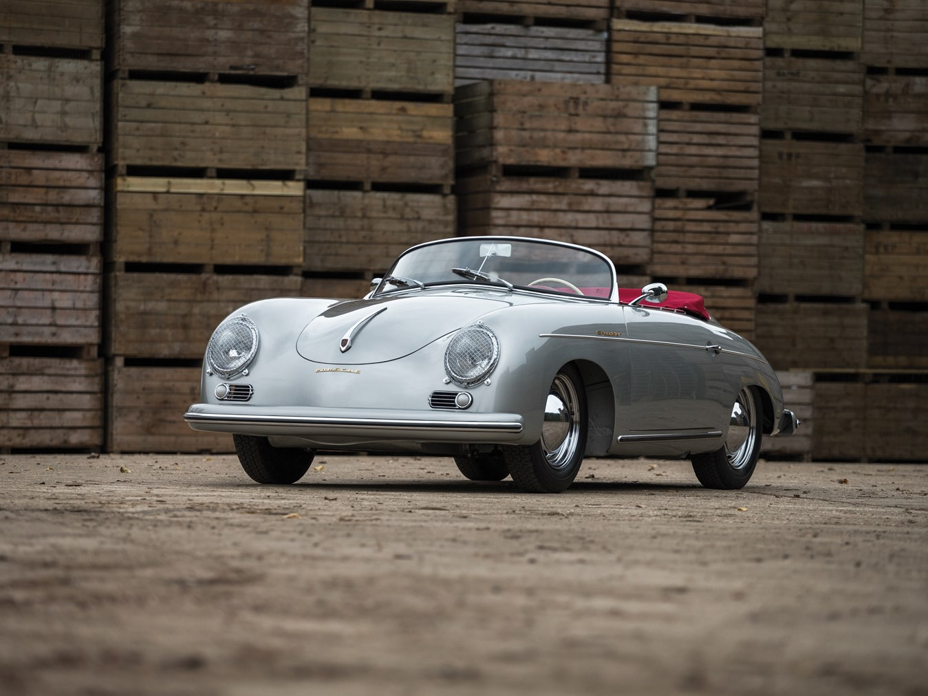rm sotheby 39 s 1955 porsche 356 pre a speedster by reutter paris 2016. Black Bedroom Furniture Sets. Home Design Ideas