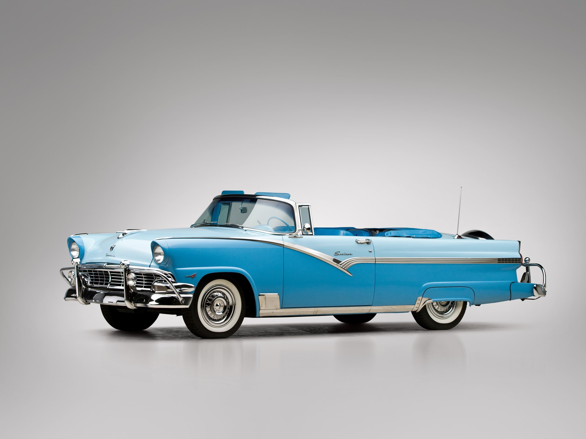 1956 Ford Fairlane Sunliner Convertible Wiring Diagrams 1954 Crown Victoria Rm Sotheby S The John Rh Rmsothebys Com 1955