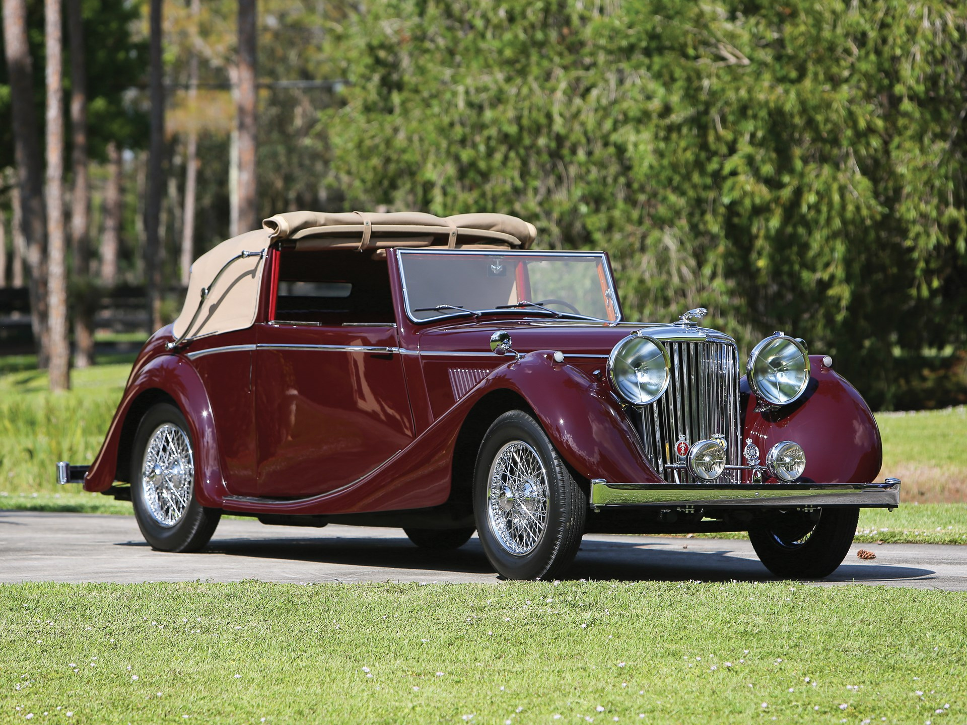 1948 Jaguar Mark IV 3½-Litre Drophead Coupe