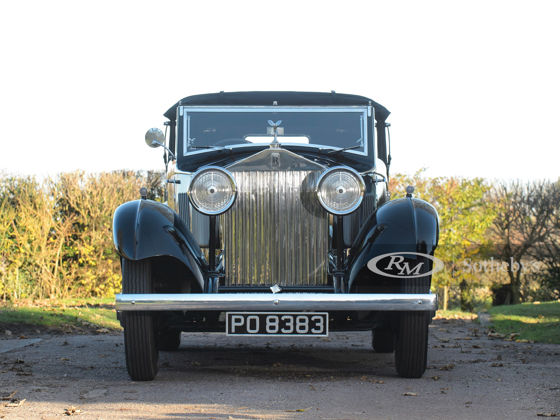 1933 Rolls-Royce 20/25 Three-Position Drophead Coupé by Barker -