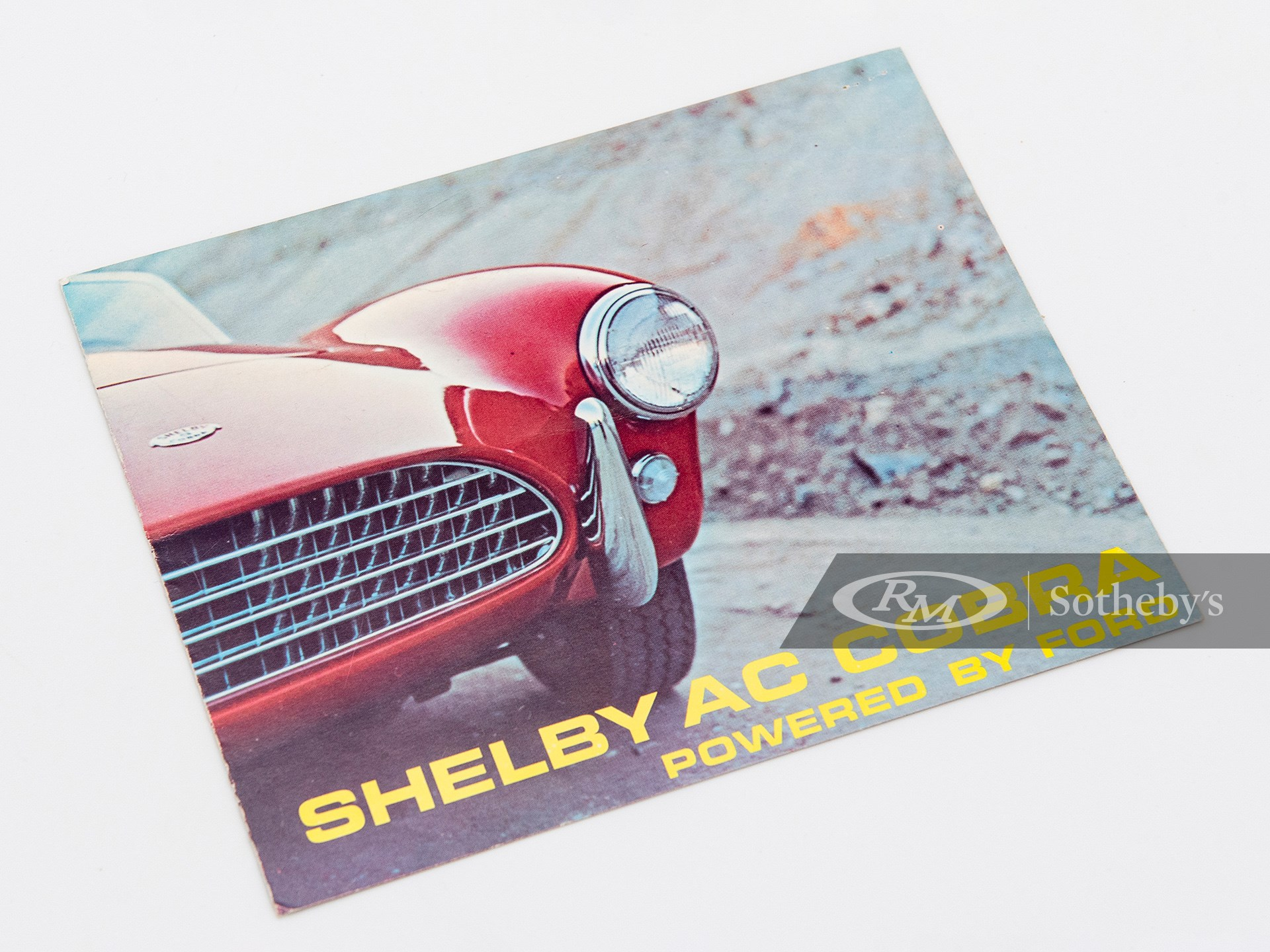 Shelby AC Cobra Sales Brochure available at RM Sotheby's Online Only Open Roads April Auction 2021