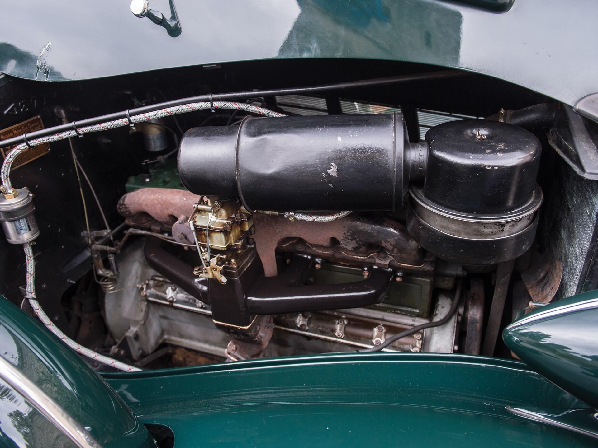 1937 Packard Super Eight Convertible Victoria