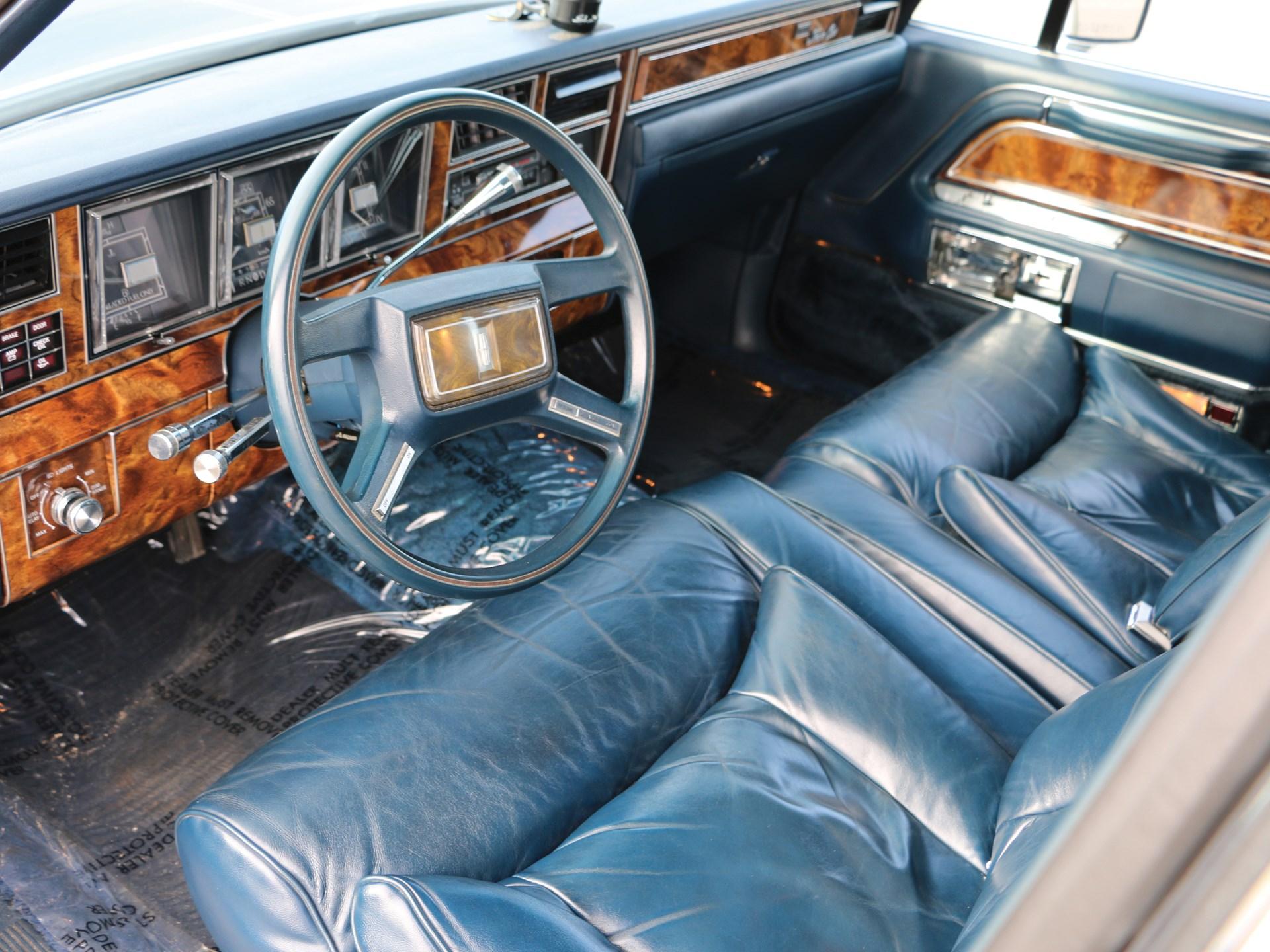 RM Sotheby's - 1984 Lincoln Town Car   Auburn Spring 2018