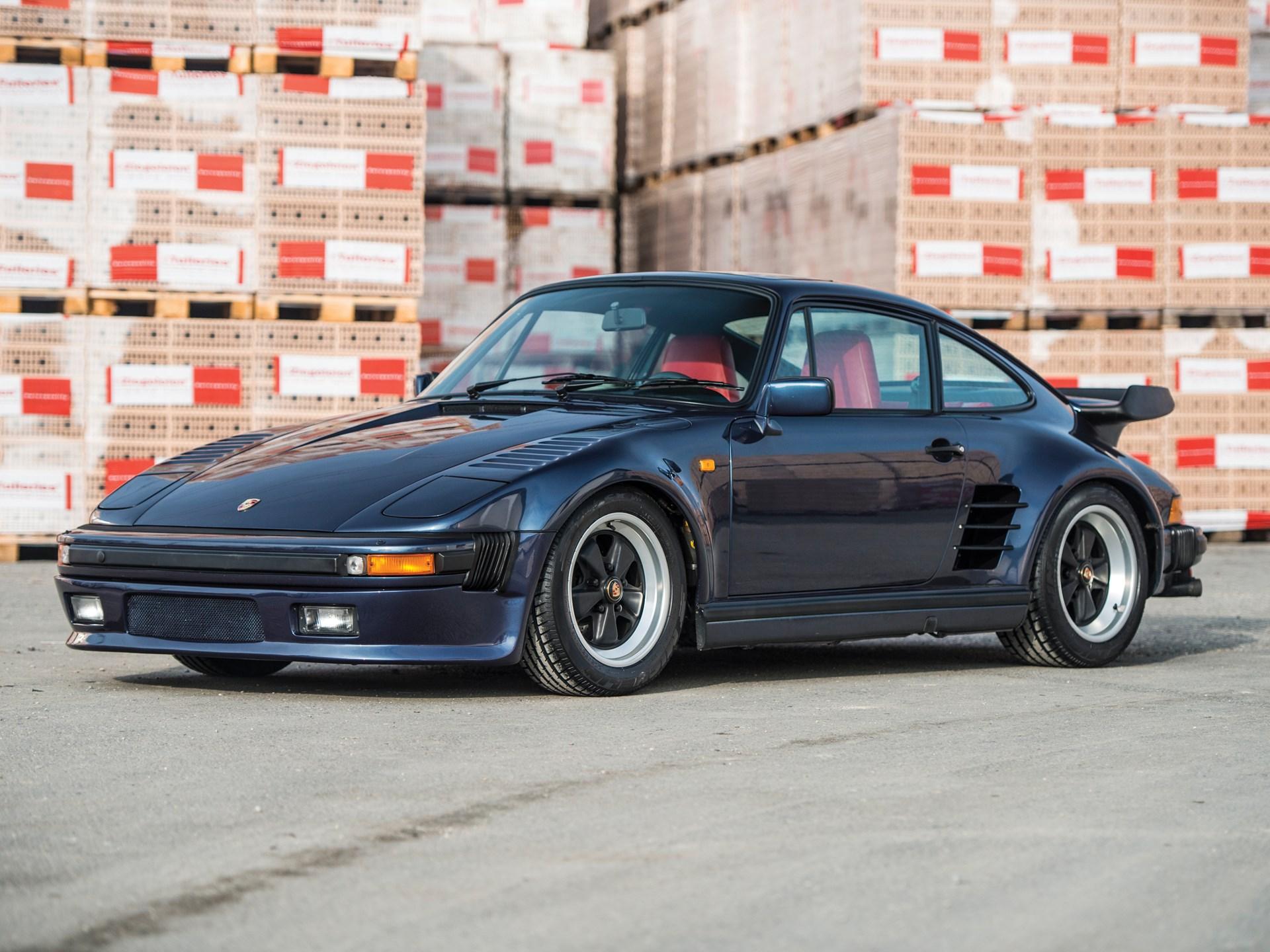 RM Sotheby's - 1986 Porsche 911 Turbo 'Flat Nose'   Paris 2017