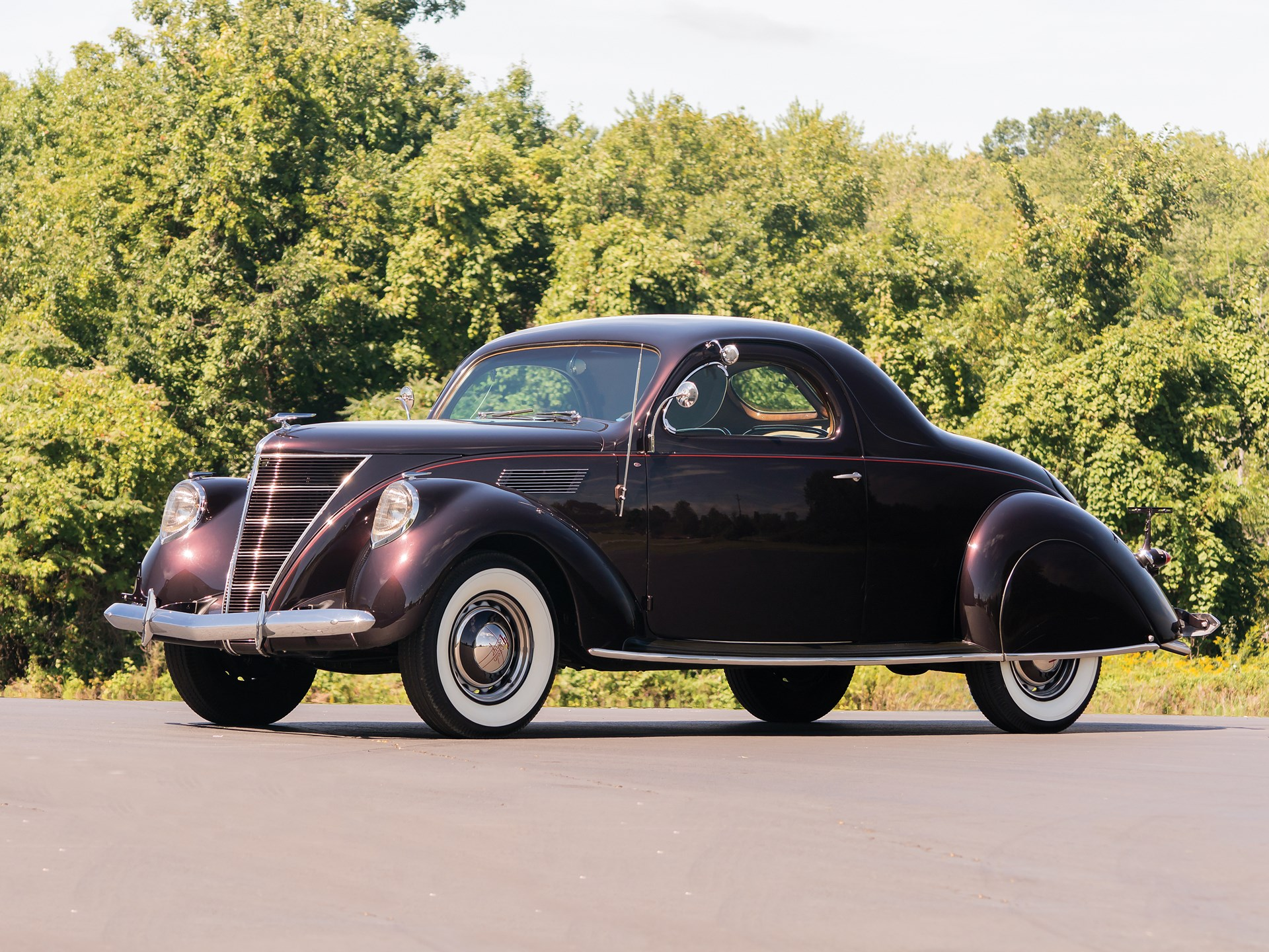 Rm Sotheby S 1937 Lincoln Zephyr Coupe Hershey 2016