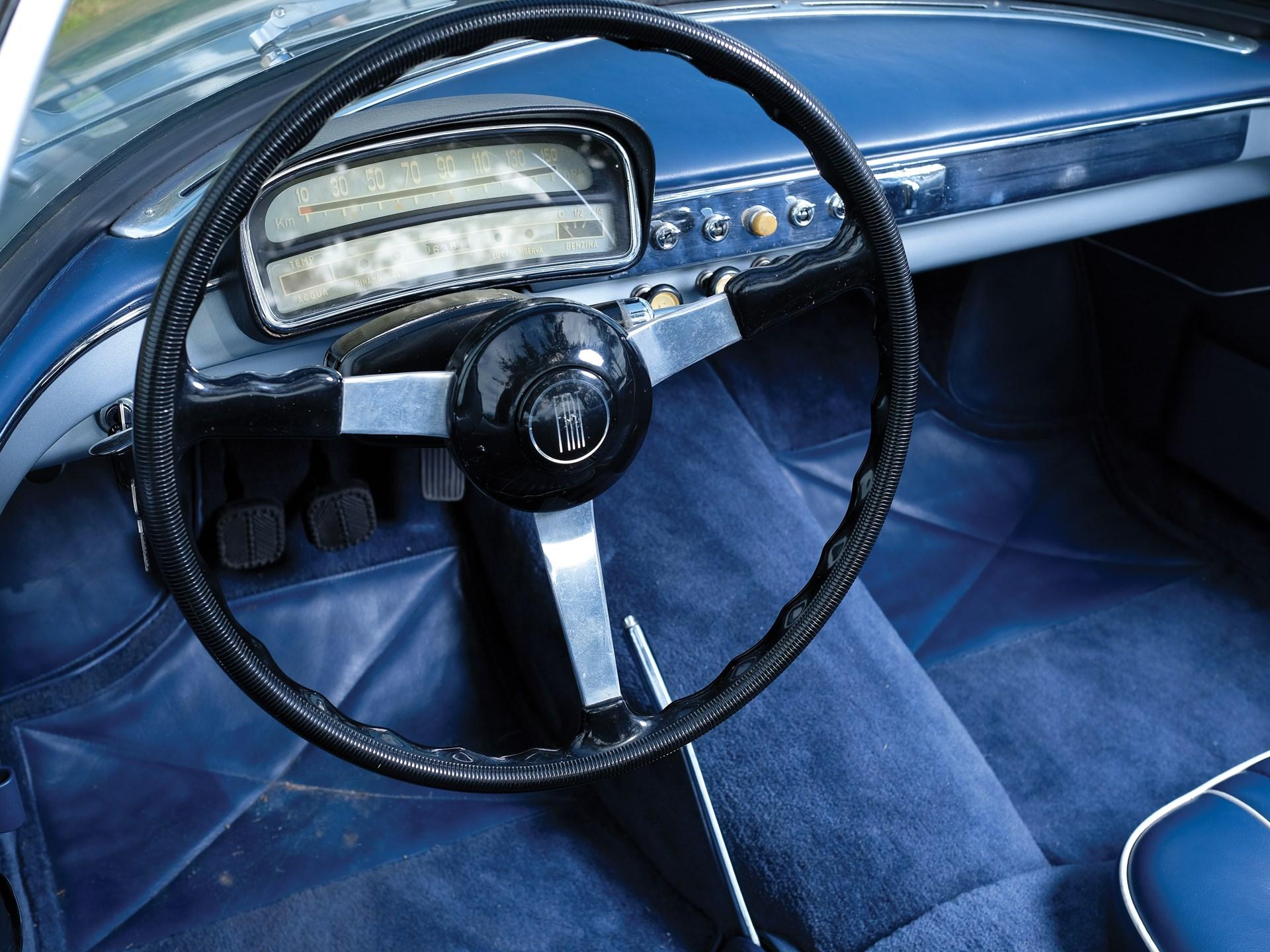 1957 Fiat-Stanguellini 1200 Spider America by Bertone