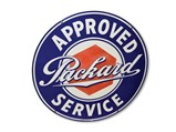 Packard Approved Service Sign - $