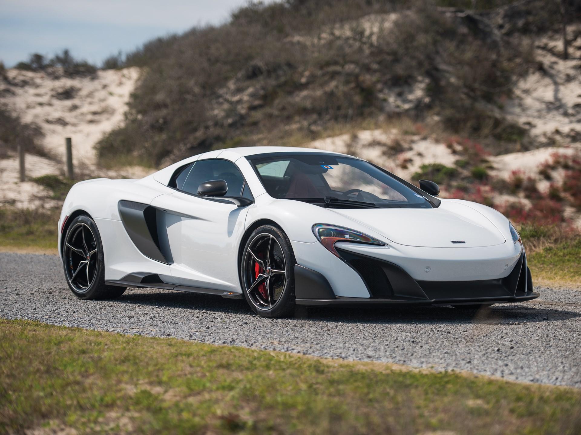 RM Sotheby\'s - 2016 McLaren 675LT Spider | Fort Lauderdale 2018
