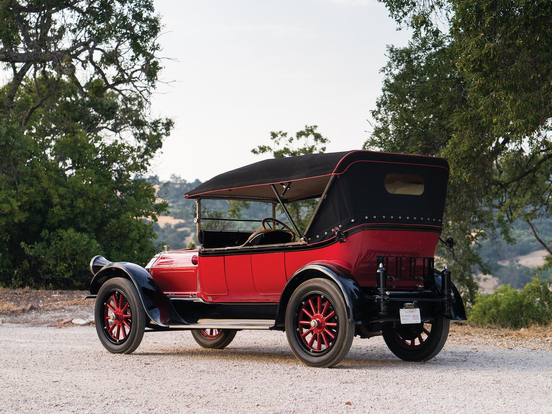 1916 Pierce-Arrow Model 38-C-4 Five-Passenger Touring