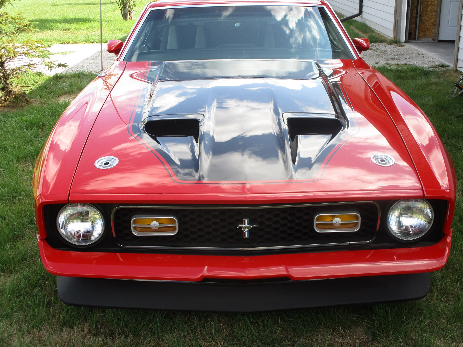 1972 Ford Mustang Mach 1 Parts