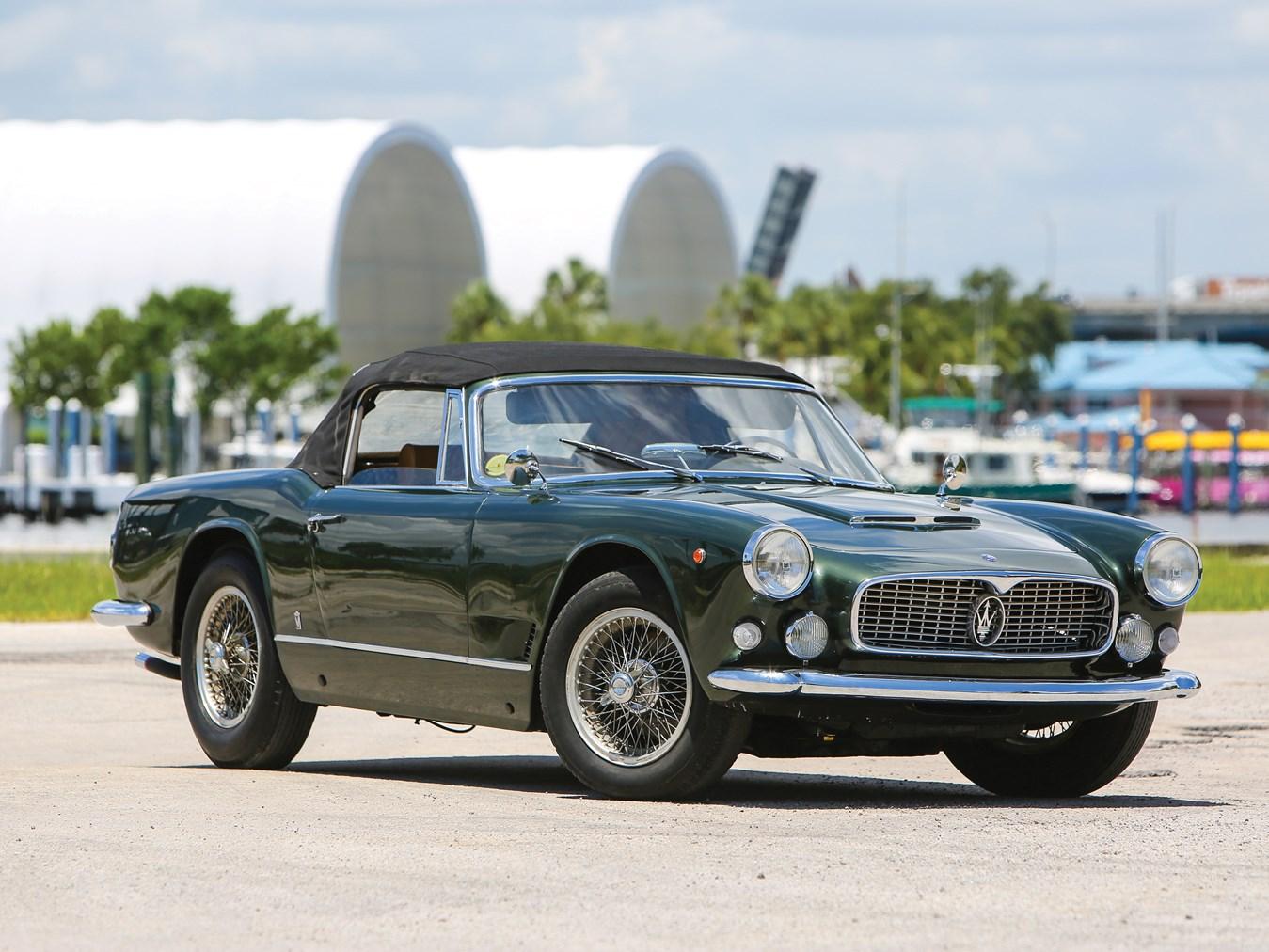 1960 Maserati 3500 GT Spyder by Vignale