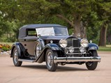 1932 Packard Deluxe Eight Individual Convertible Victoria by Dietrich - $