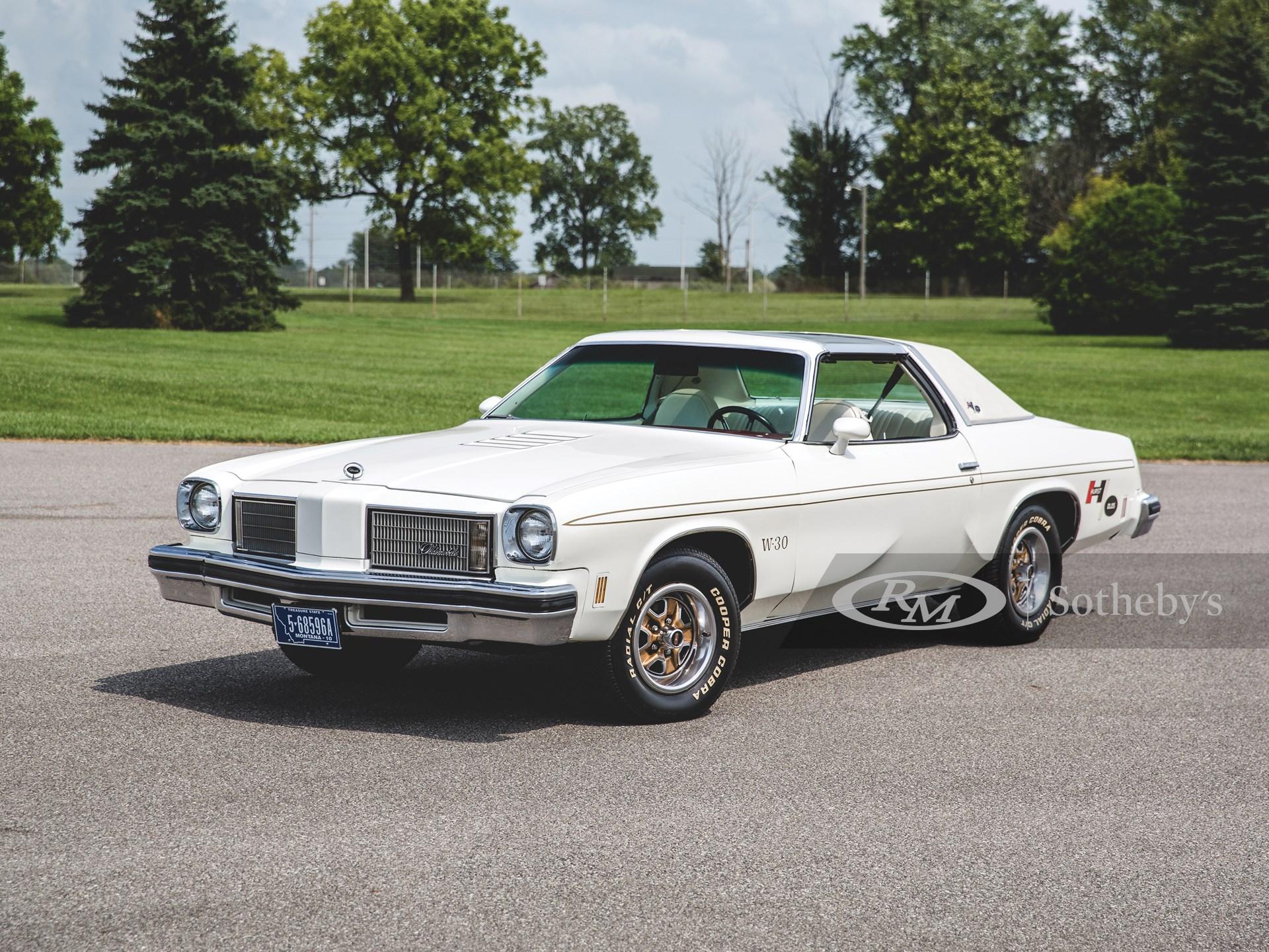 1975 Oldsmobile Cutlass Hurst W-30
