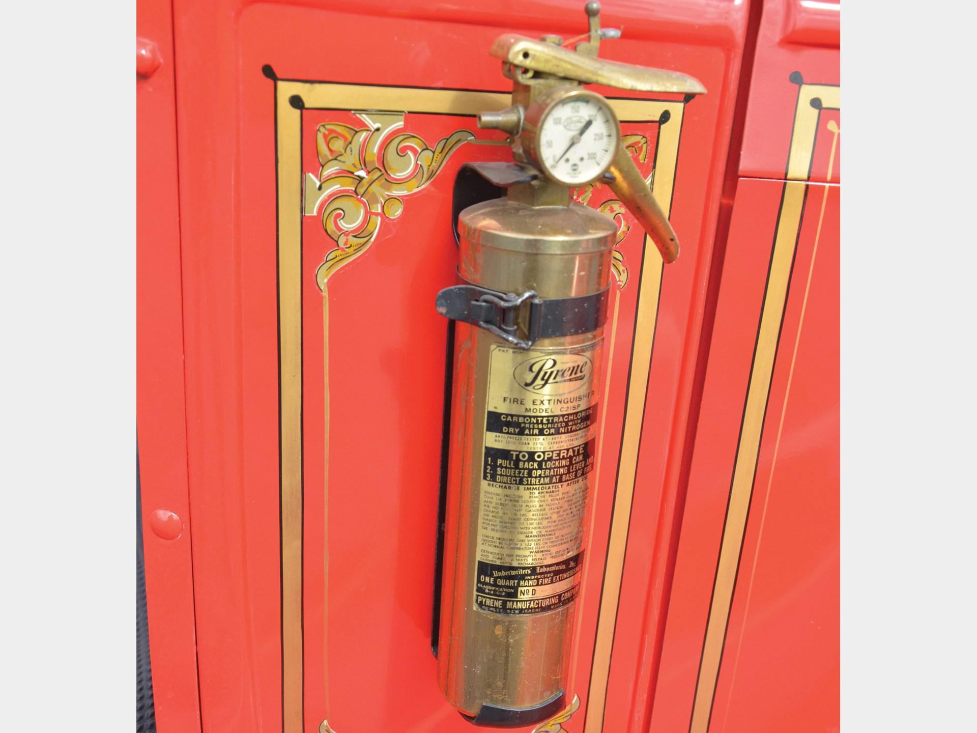 RM Sotheby's - 1929 Chevrolet 1½-Ton Fire Truck   Auburn Spring 2019