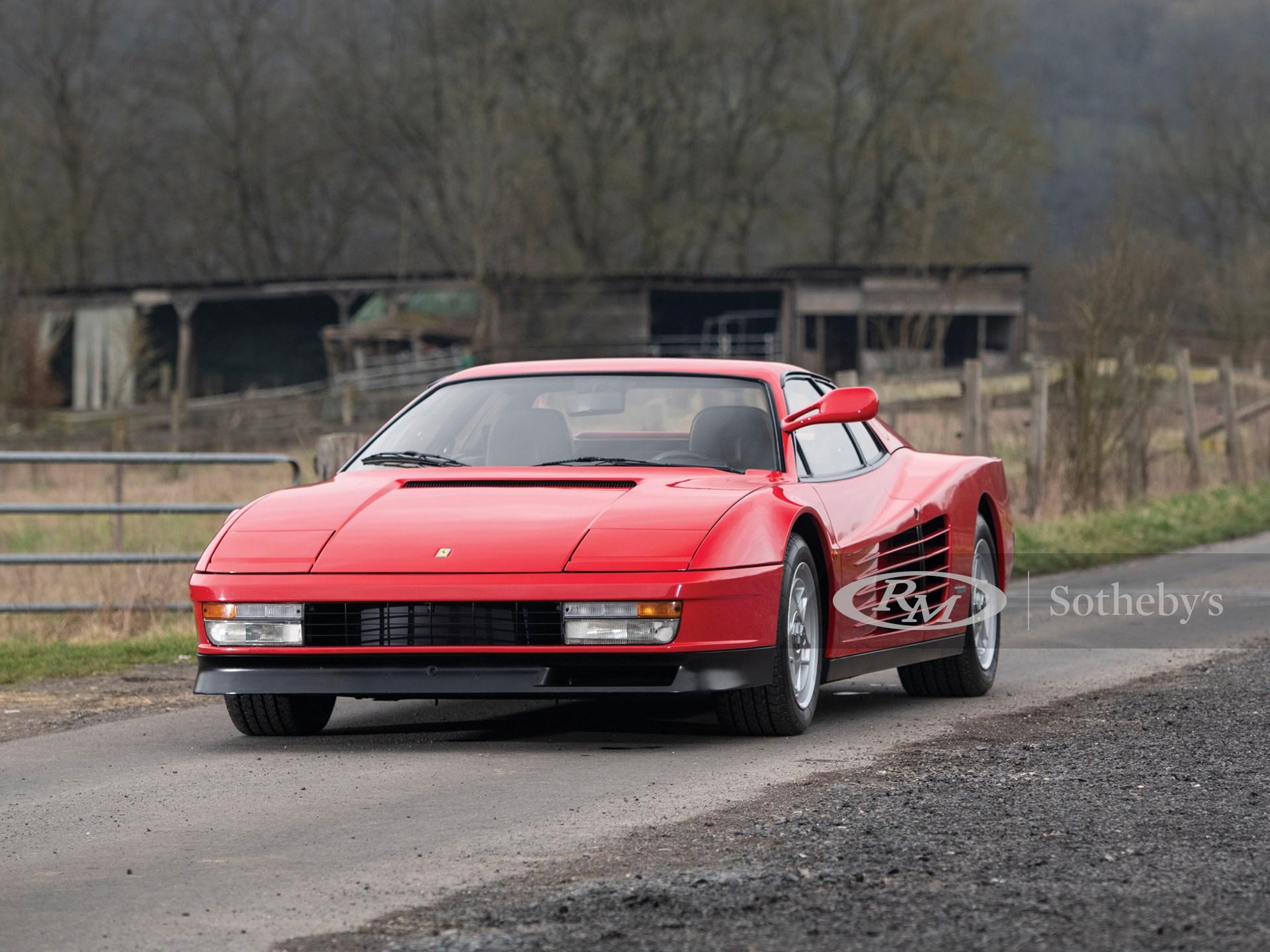 1986 Ferrari Testarossa  -