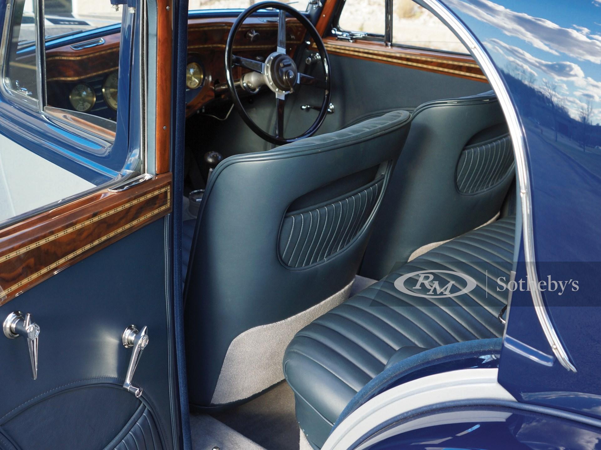 1937 MG SA Saloon  -