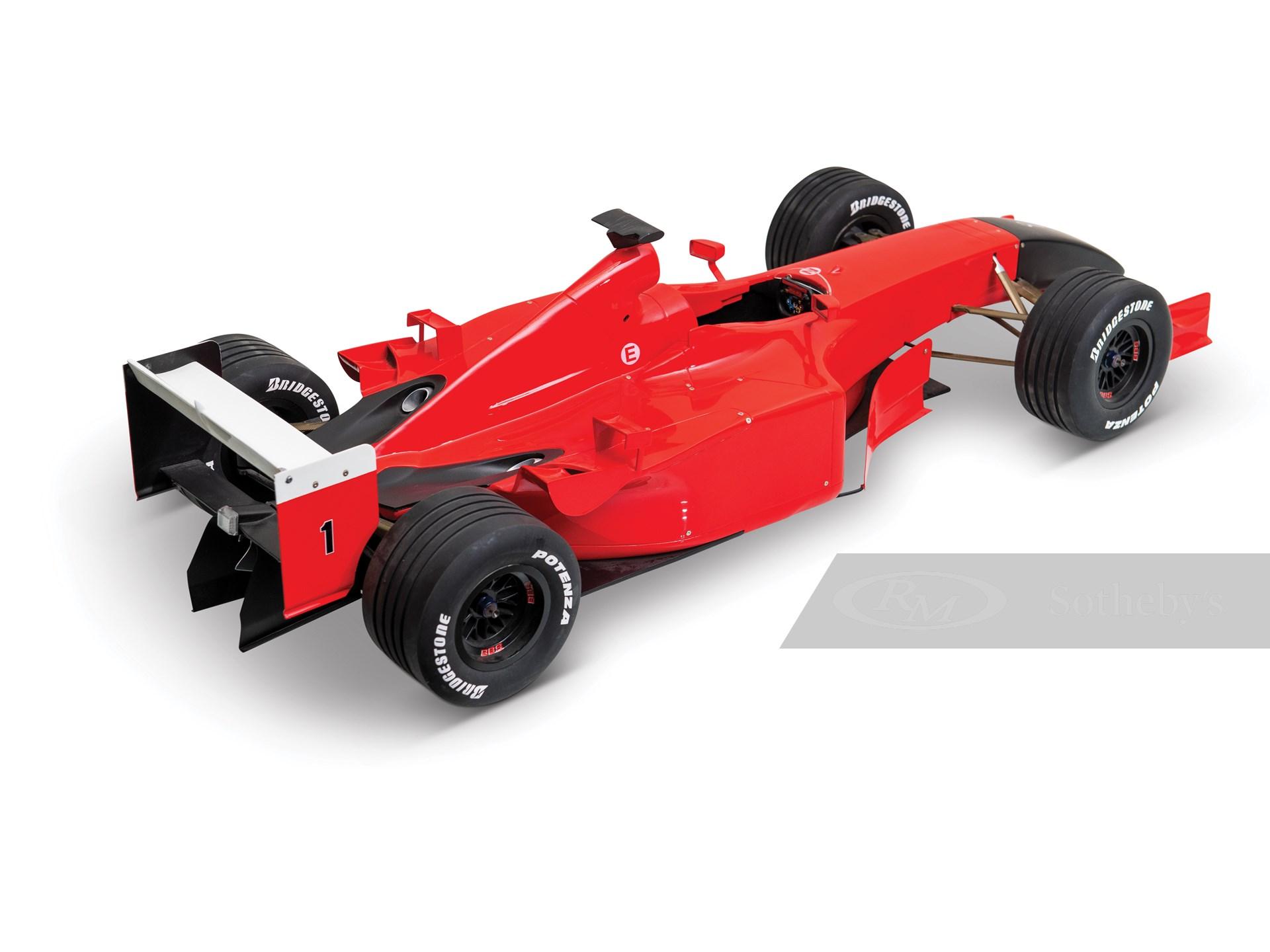 Michael Schumacher 2001 Ferrari F2001 Model -