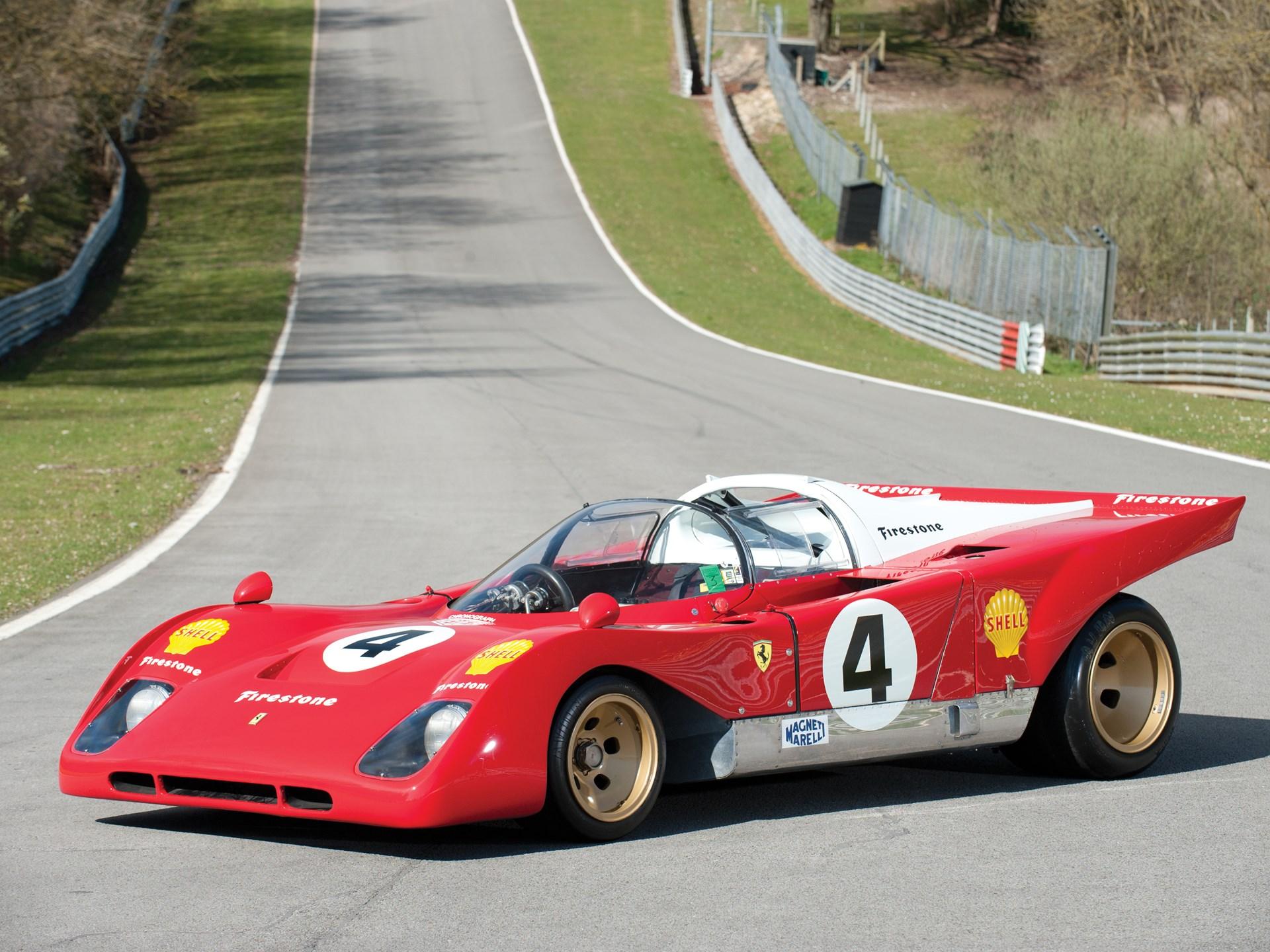 1967 Ferrari Dino 206 S Spider