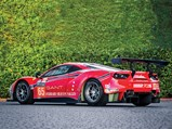 2016 Ferrari 488 GTE  - $1/10, f 5, iso50 with a {lens type} at 85 mm on a Canon EOS-1D Mark IV.  Photo: Cymon Taylor
