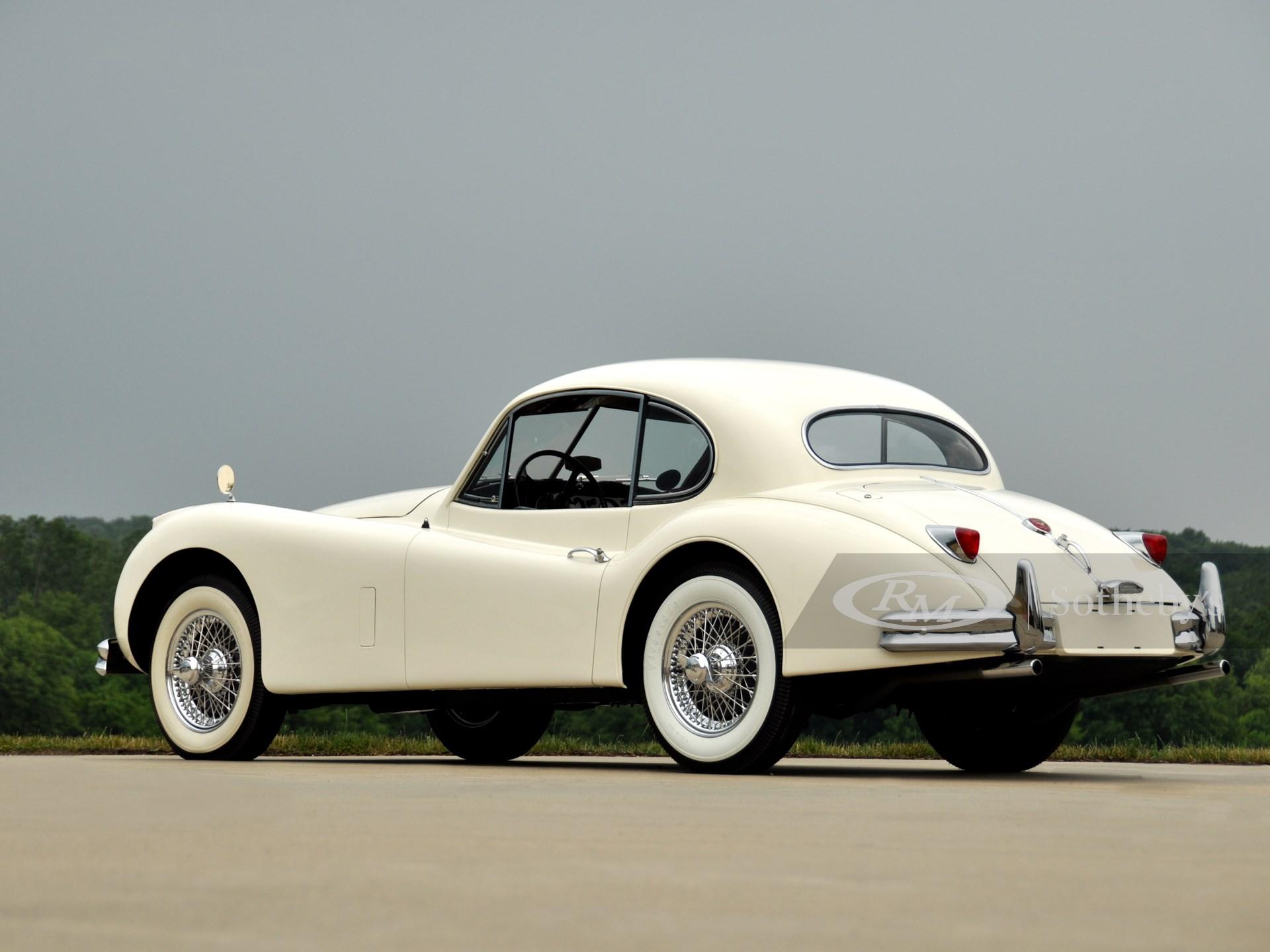 1955 Jaguar XK140 MC Fixed Head Coupe  -