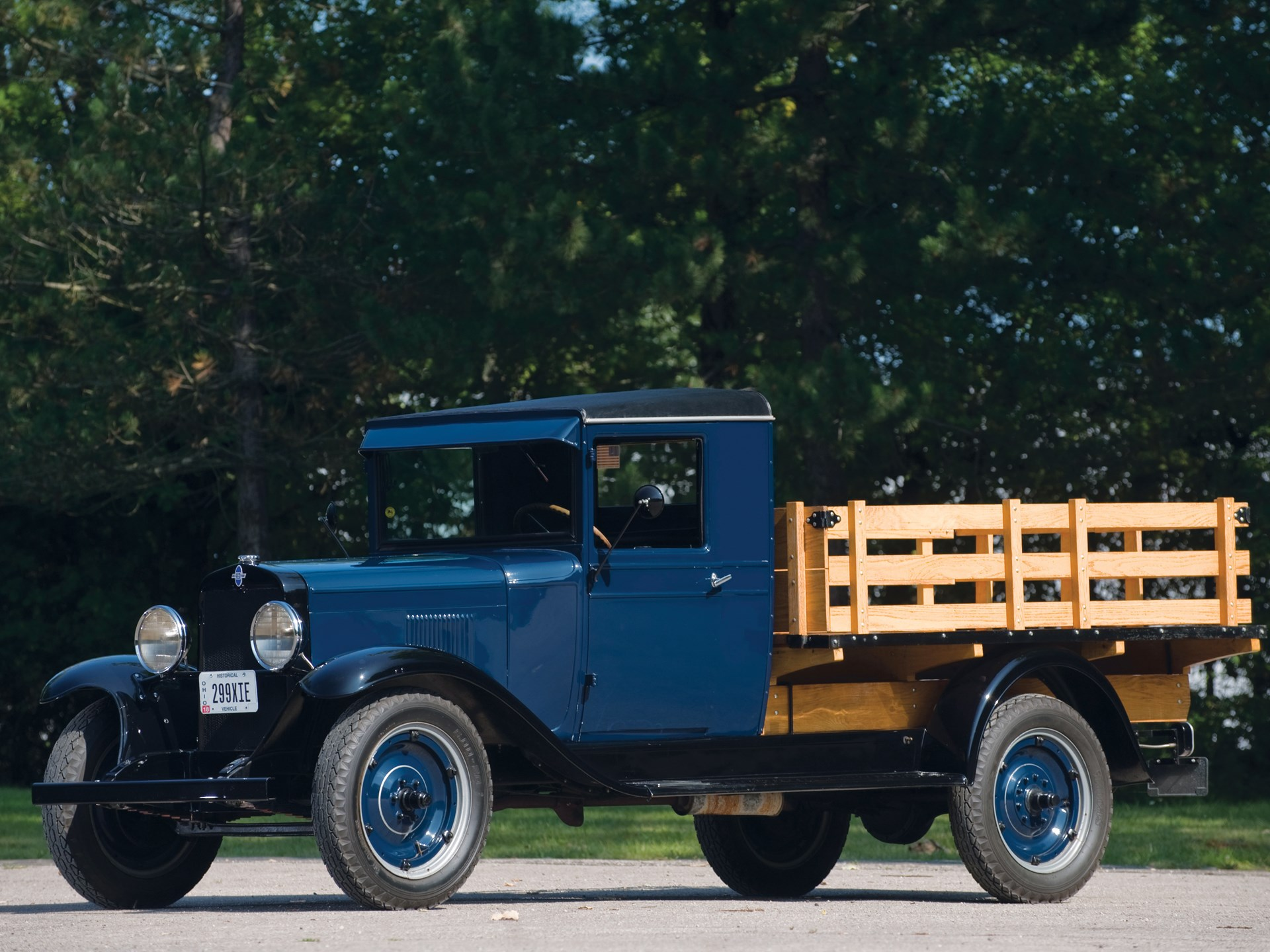 RM Sotheby s 1930 Chevrolet Universal Series 1 Ton Stake Truck