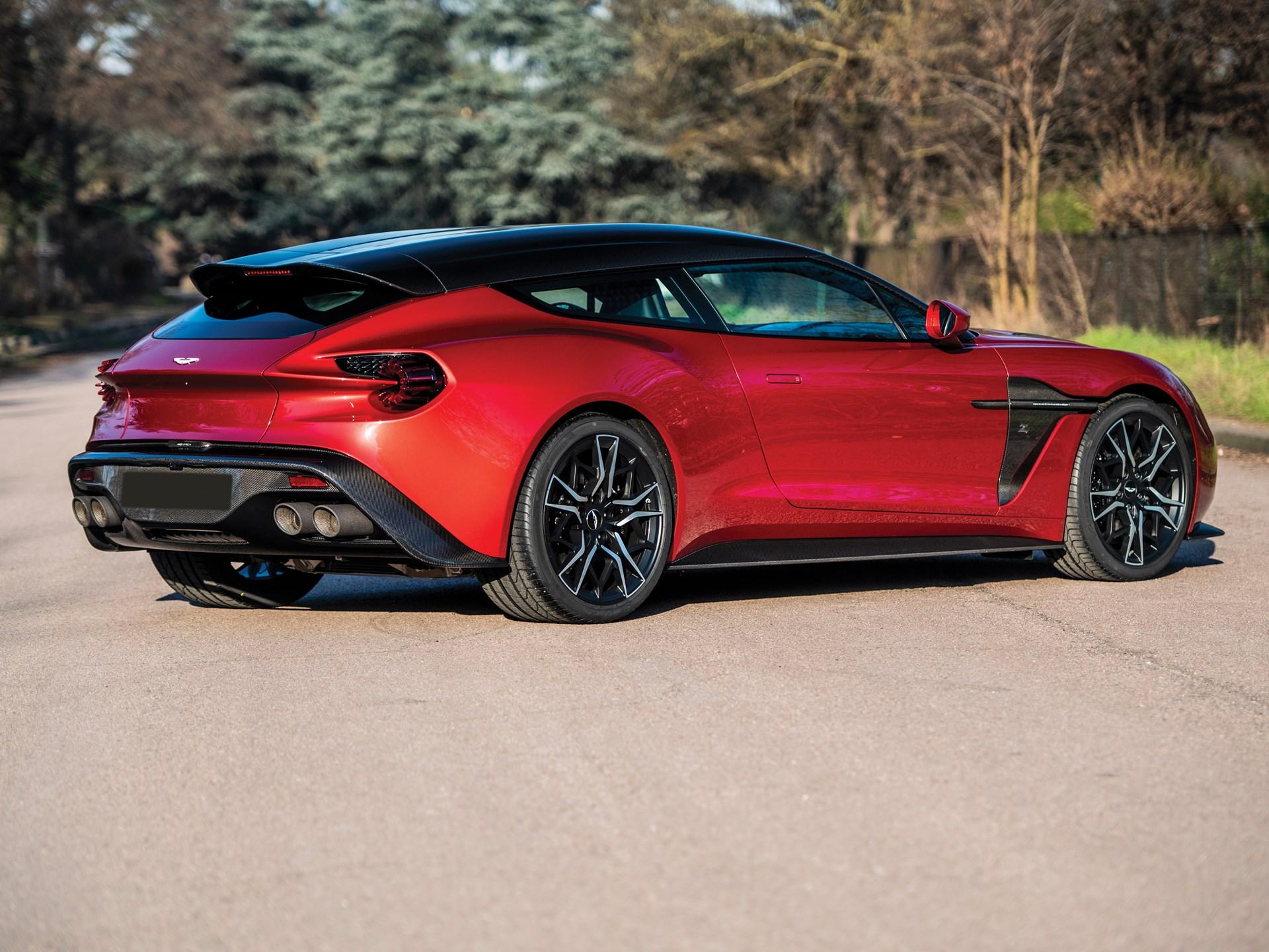 RM Sotheby's - 2019 Aston Martin Vanquish Zagato Shooting