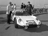 1964 Porsche 904 GTS  - $904-601 as seen during the 1969 Tour de France.