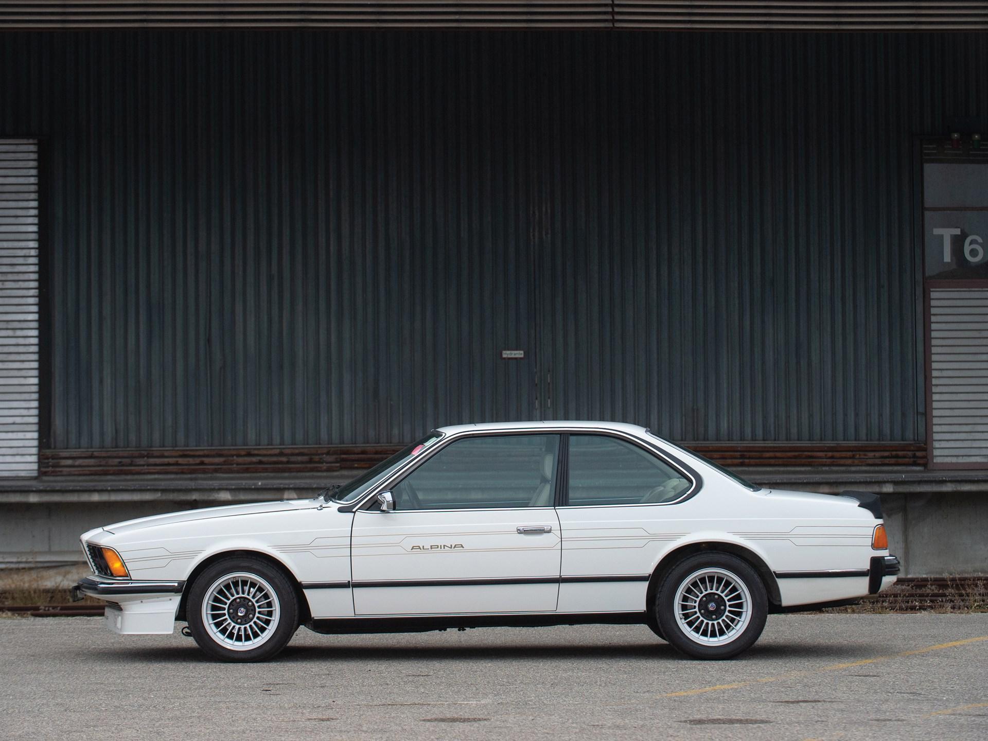 1982 BMW Alpina B7 Turbo Coupé