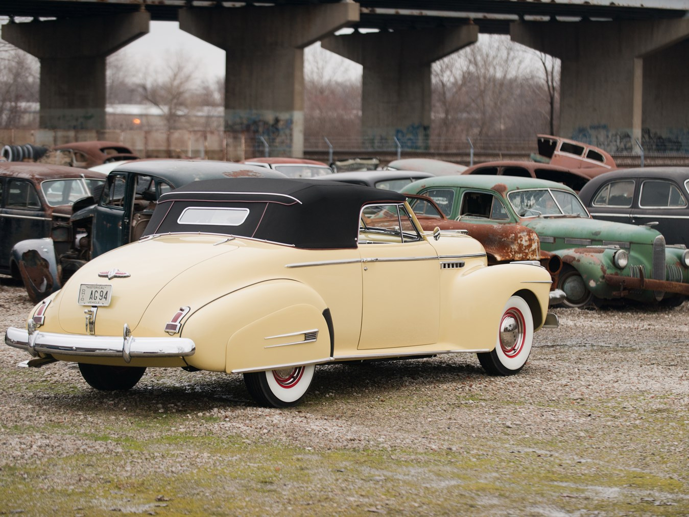 1941 Buick Roadmaster Convertible Coupe