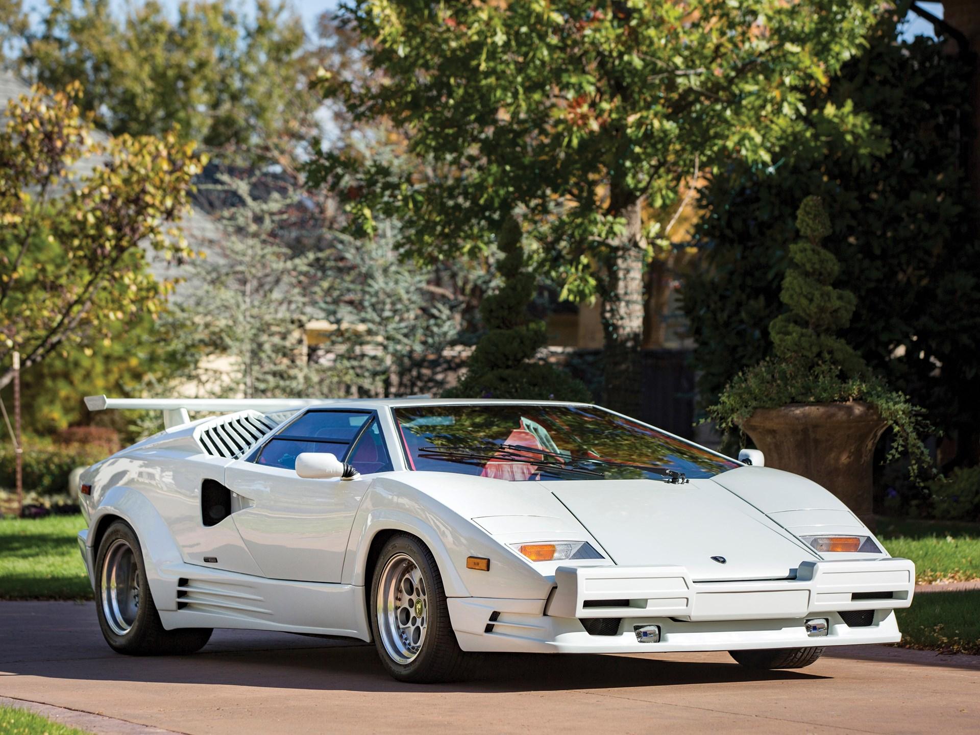RM Sotheby\'s - 1989 Lamborghini Countach 25th Anniversary | Arizona 2017