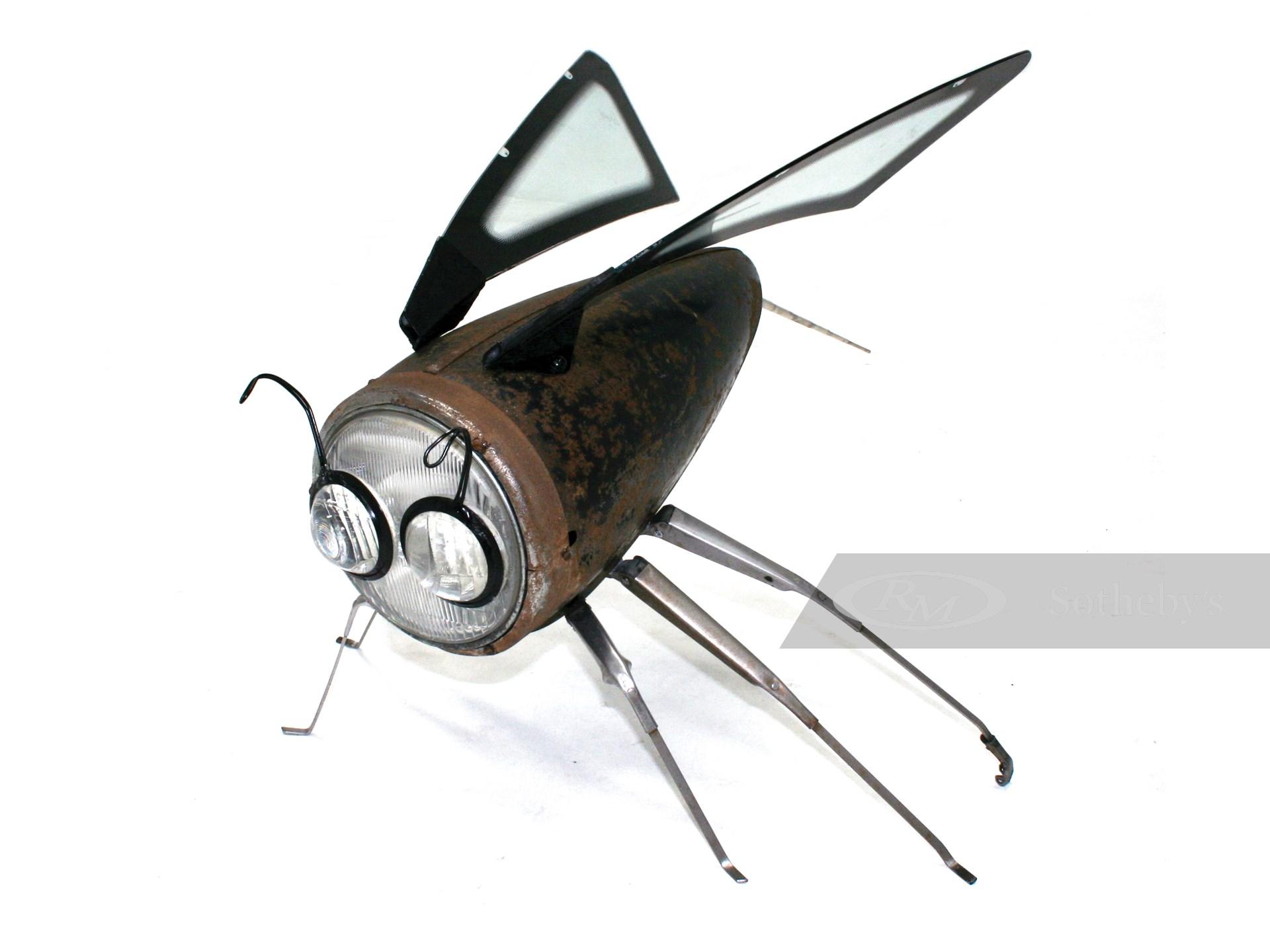Headlight Hornet by Terry & Elaine Lawrie -