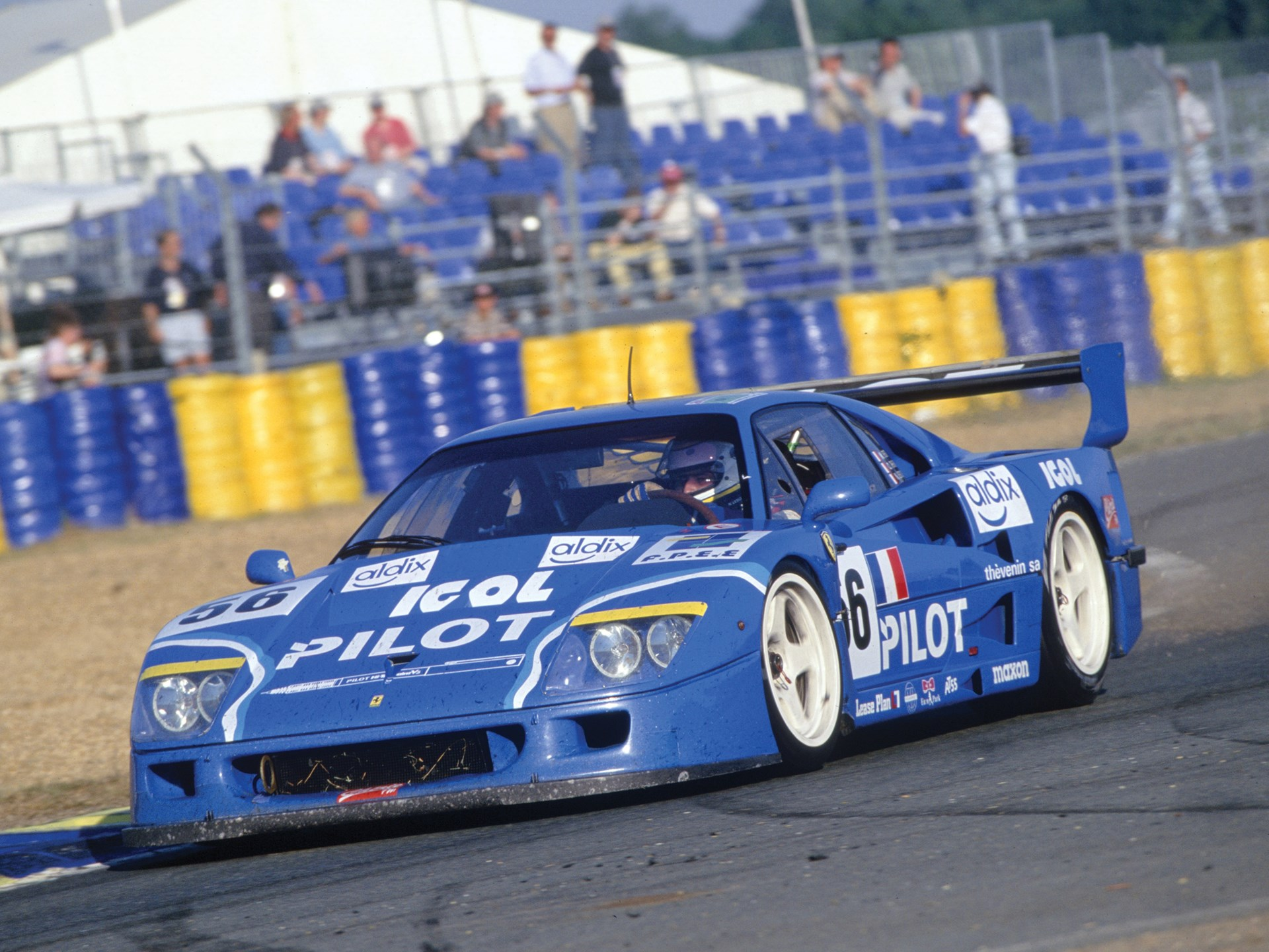 The F40 LM at the 1996 24 Hours of Le Mans