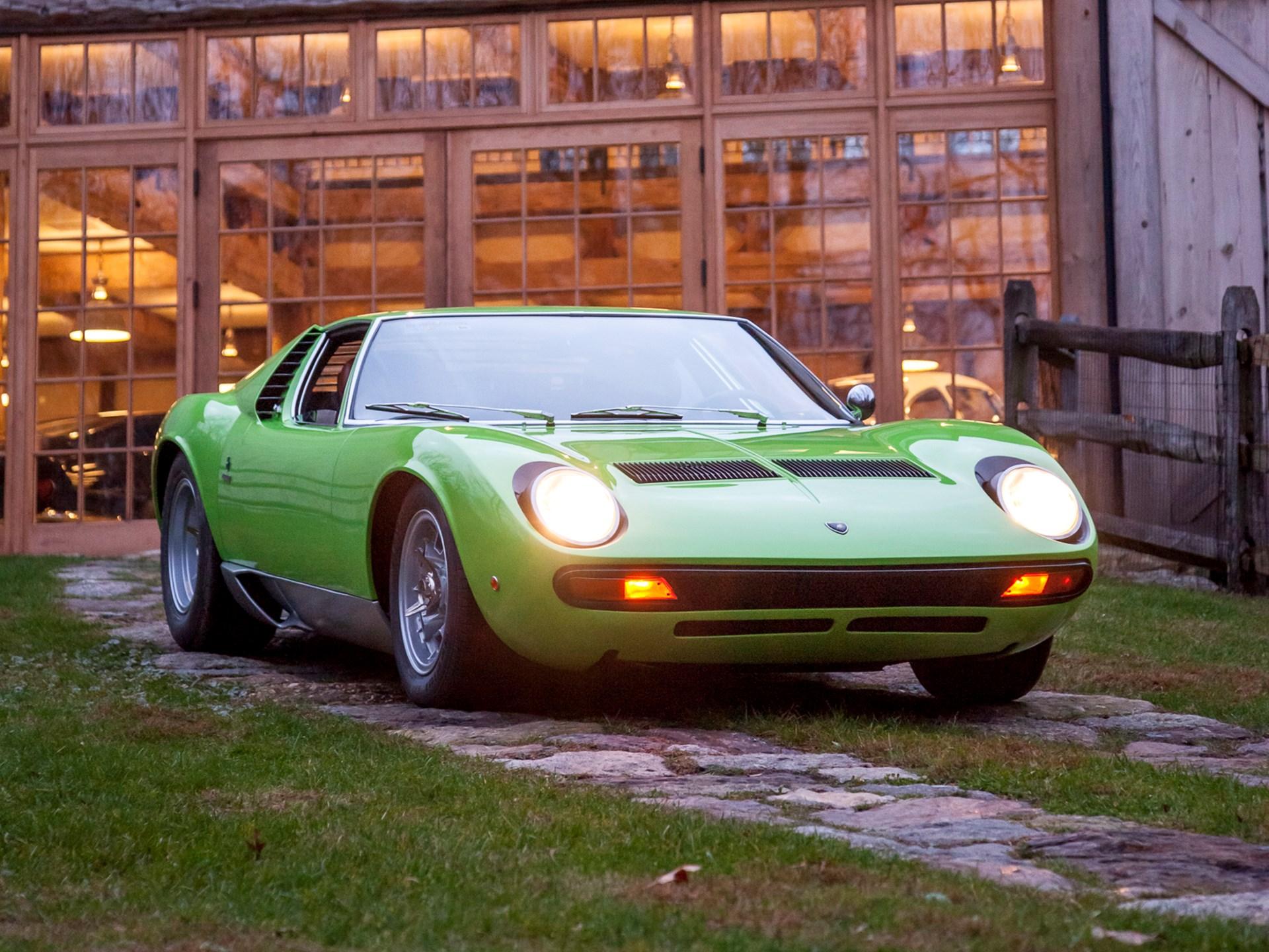 Rm Sotheby S 1969 Lamborghini Miura P400s Sv Specification