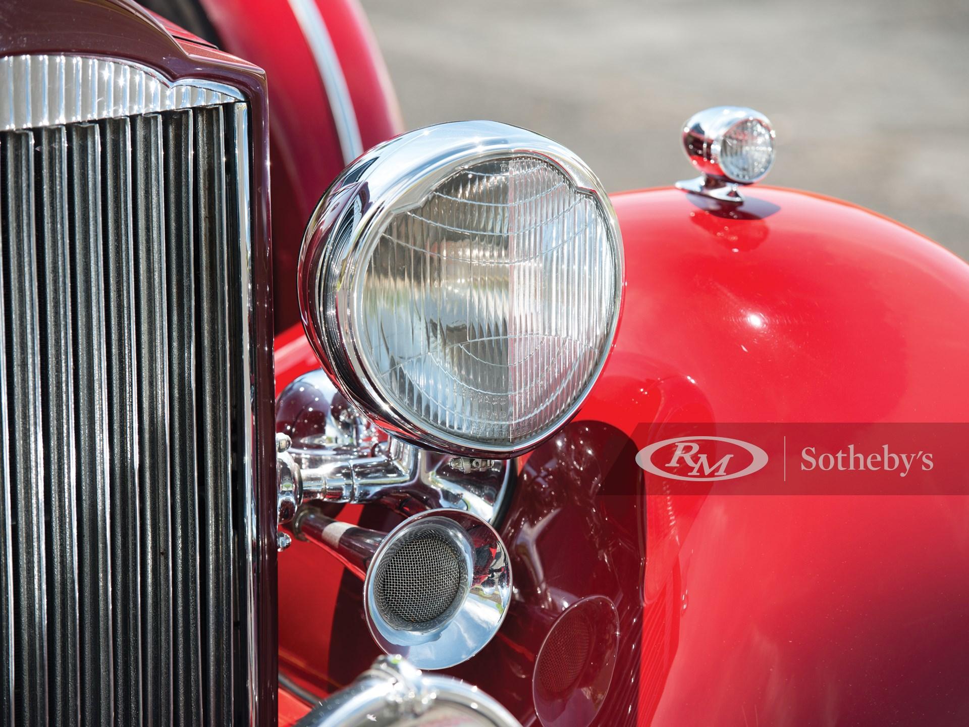 1934 Packard Super Eight Convertible Victoria  -
