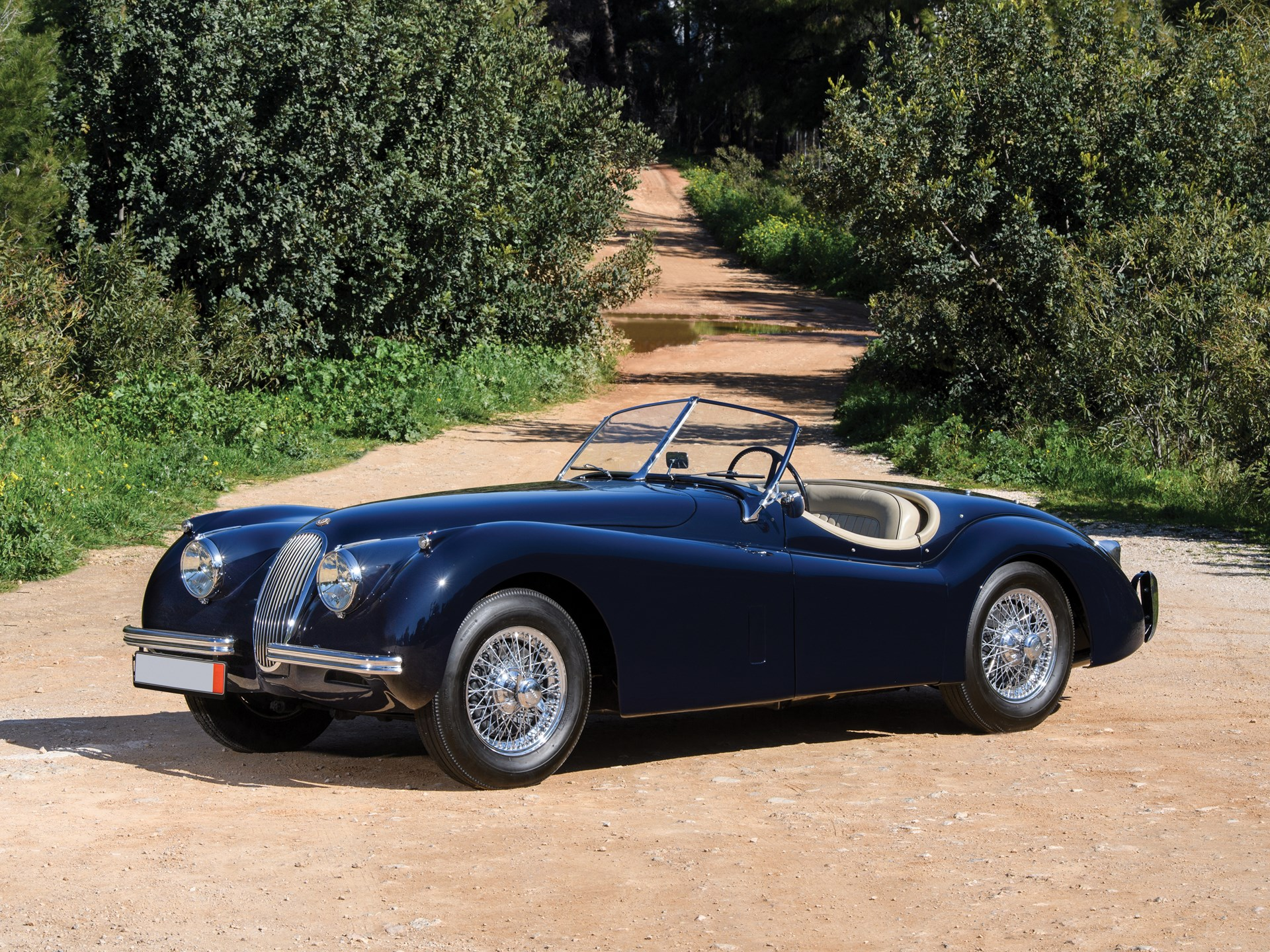 rm sotheby's - 1954 jaguar xk 120 se roadster | essen 2019