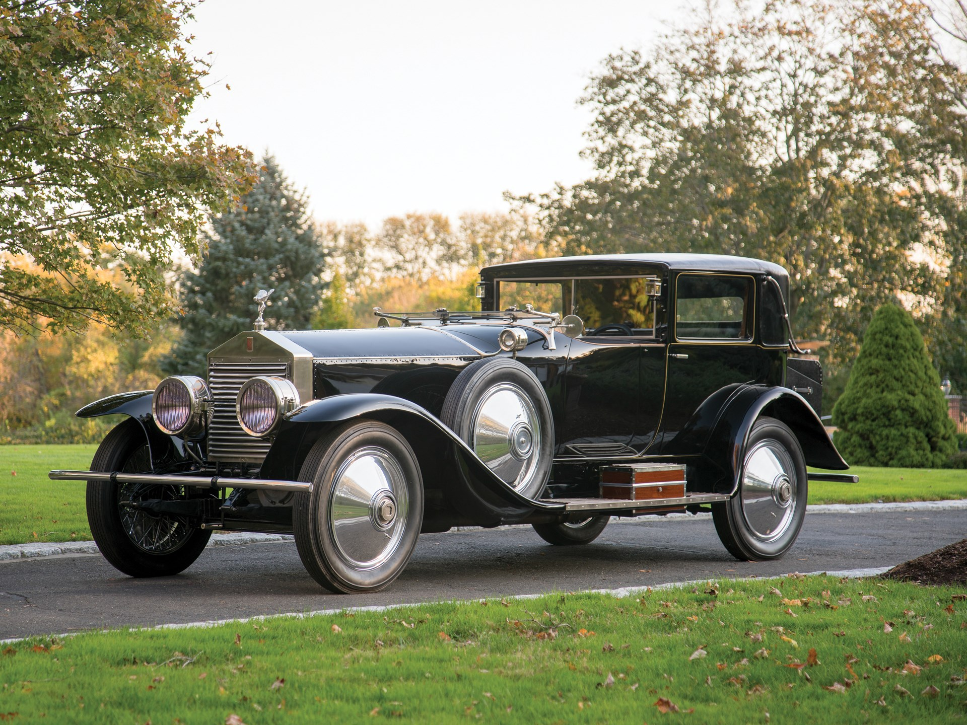 1923 Rolls-Royce Silver Ghost Riviera Town Car by Brewster